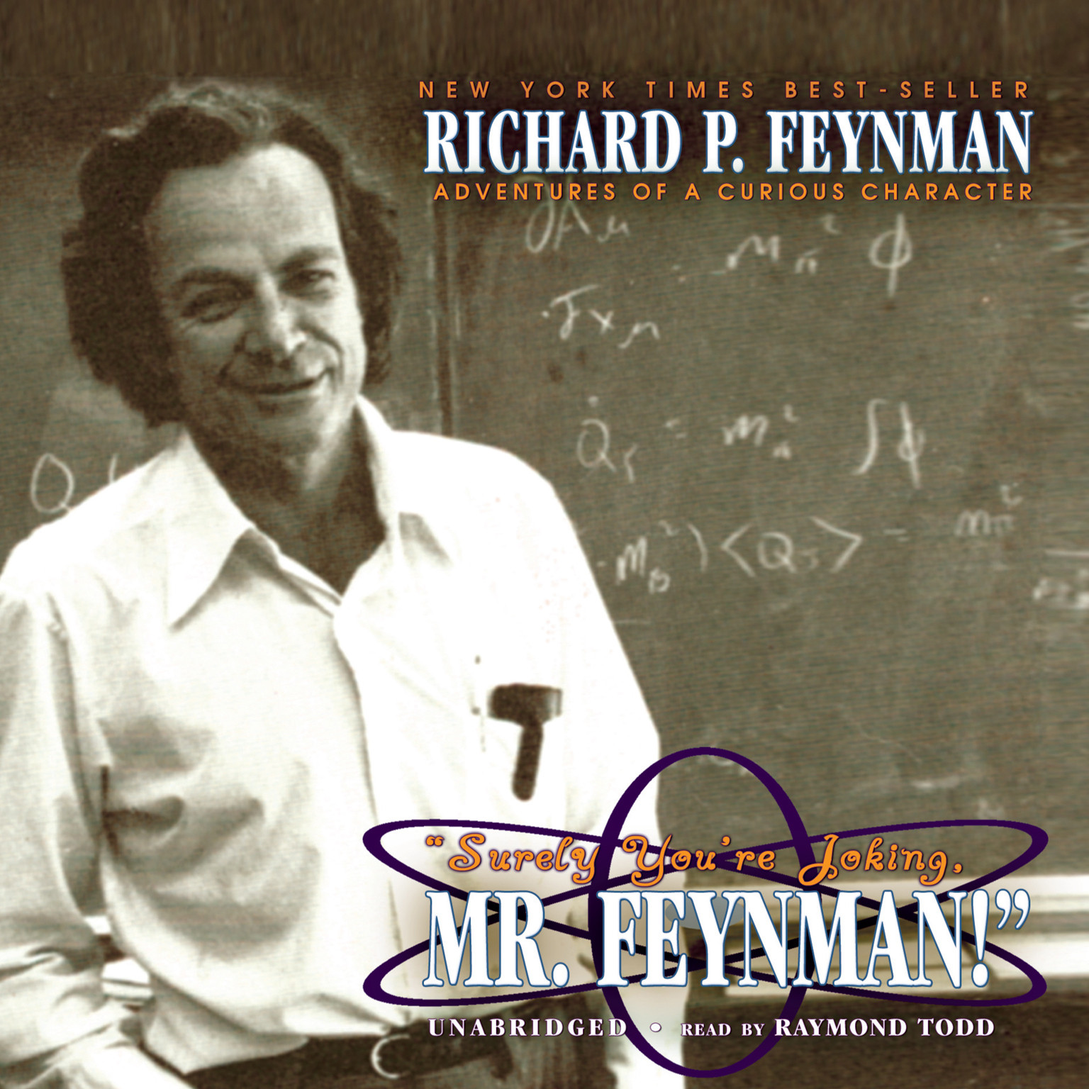 "Printable ""Surely You're Joking, Mr. Feynman!"": Adventures of a Curious Character Audiobook Cover Art"