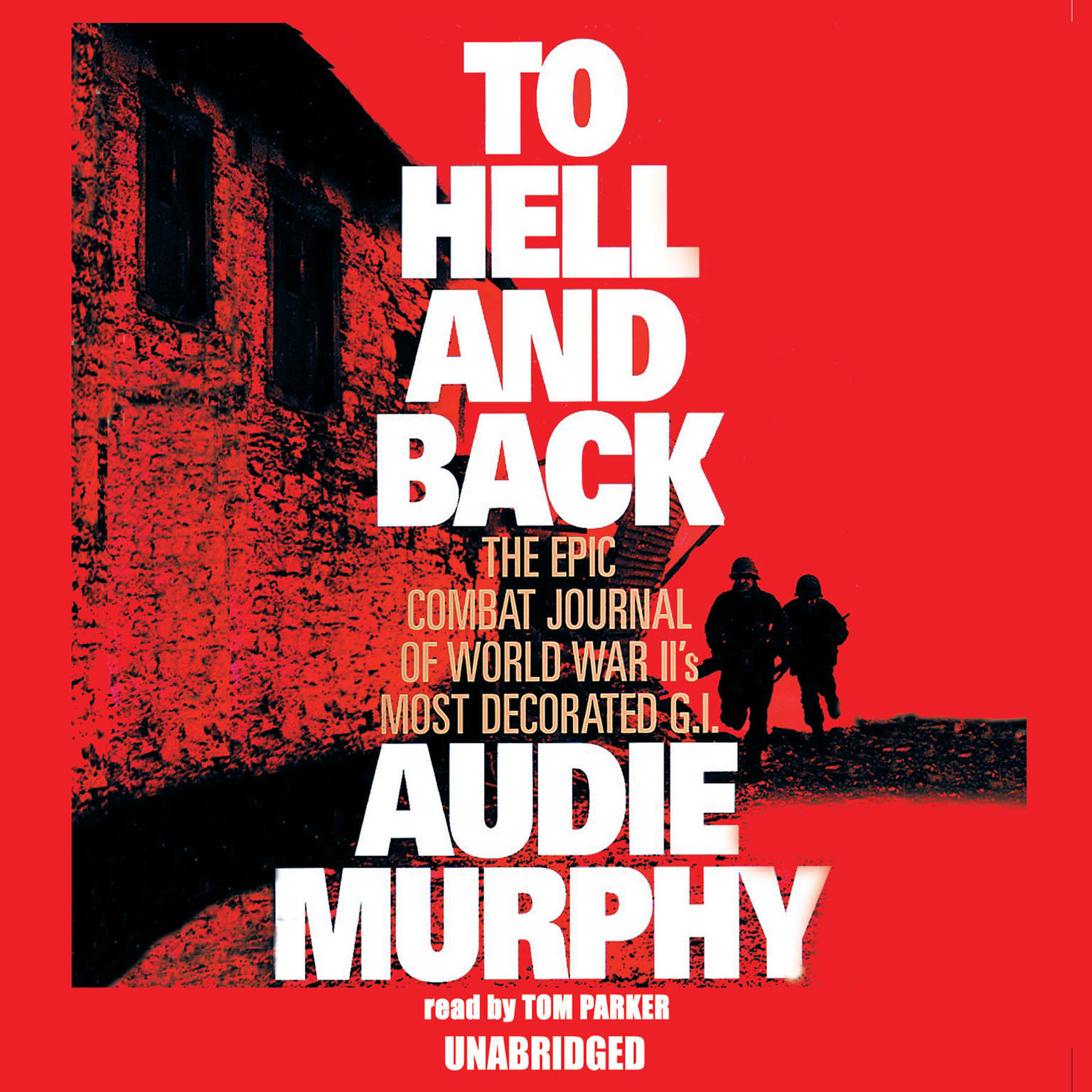 Printable To Hell and Back Audiobook Cover Art