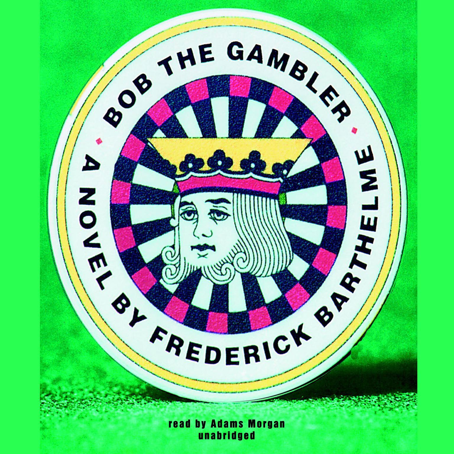 Printable Bob the Gambler Audiobook Cover Art