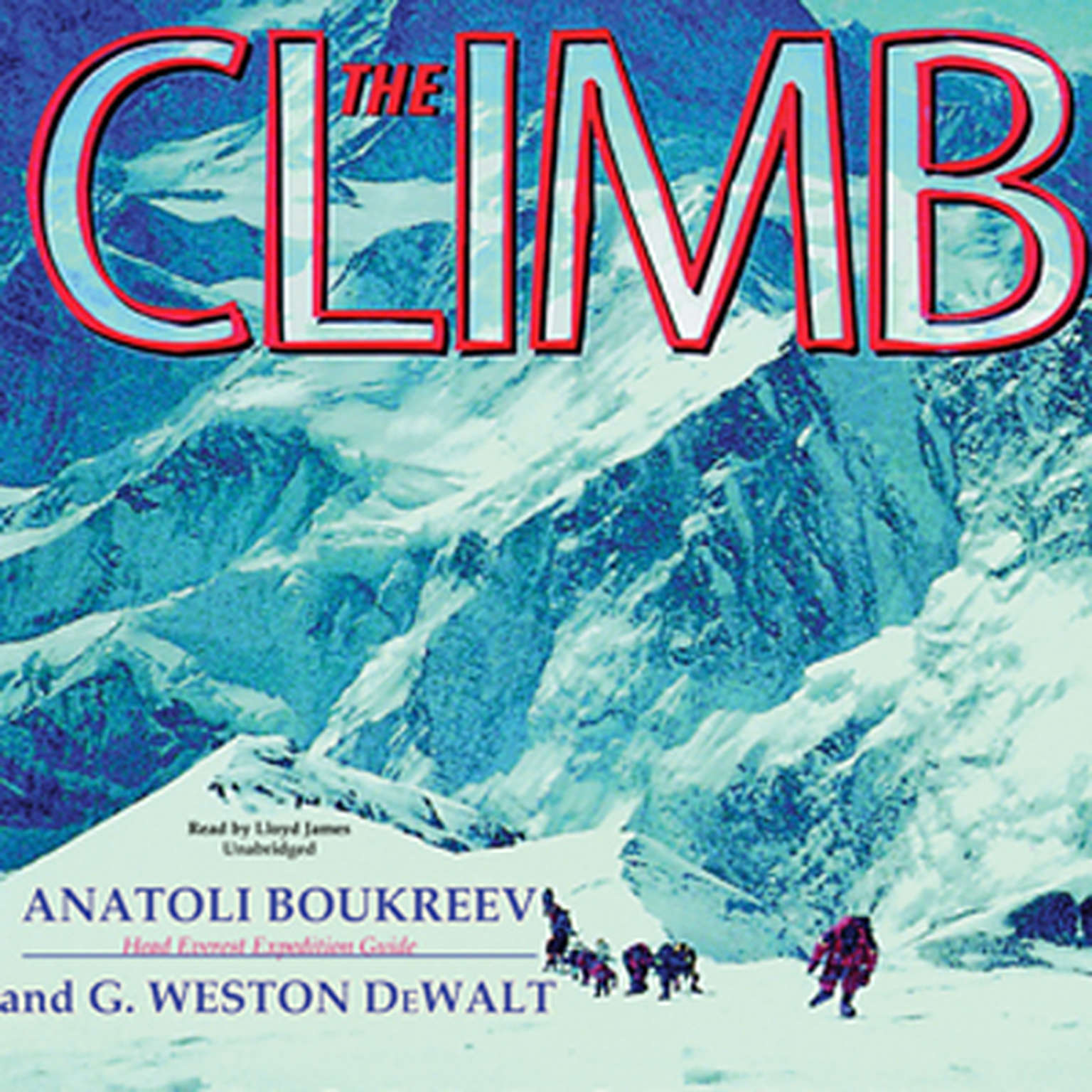 Printable The Climb: Tragic Ambitions on Everest Audiobook Cover Art