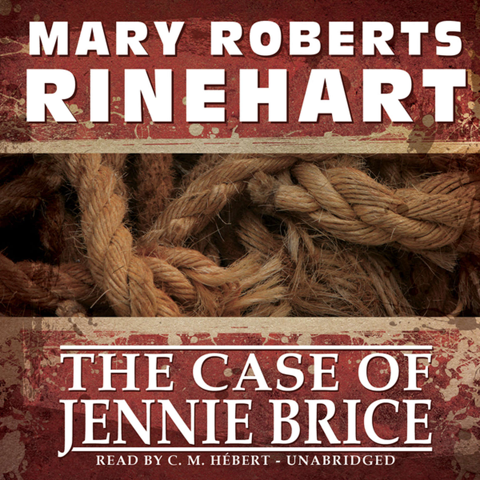 Printable The Case of Jennie Brice Audiobook Cover Art