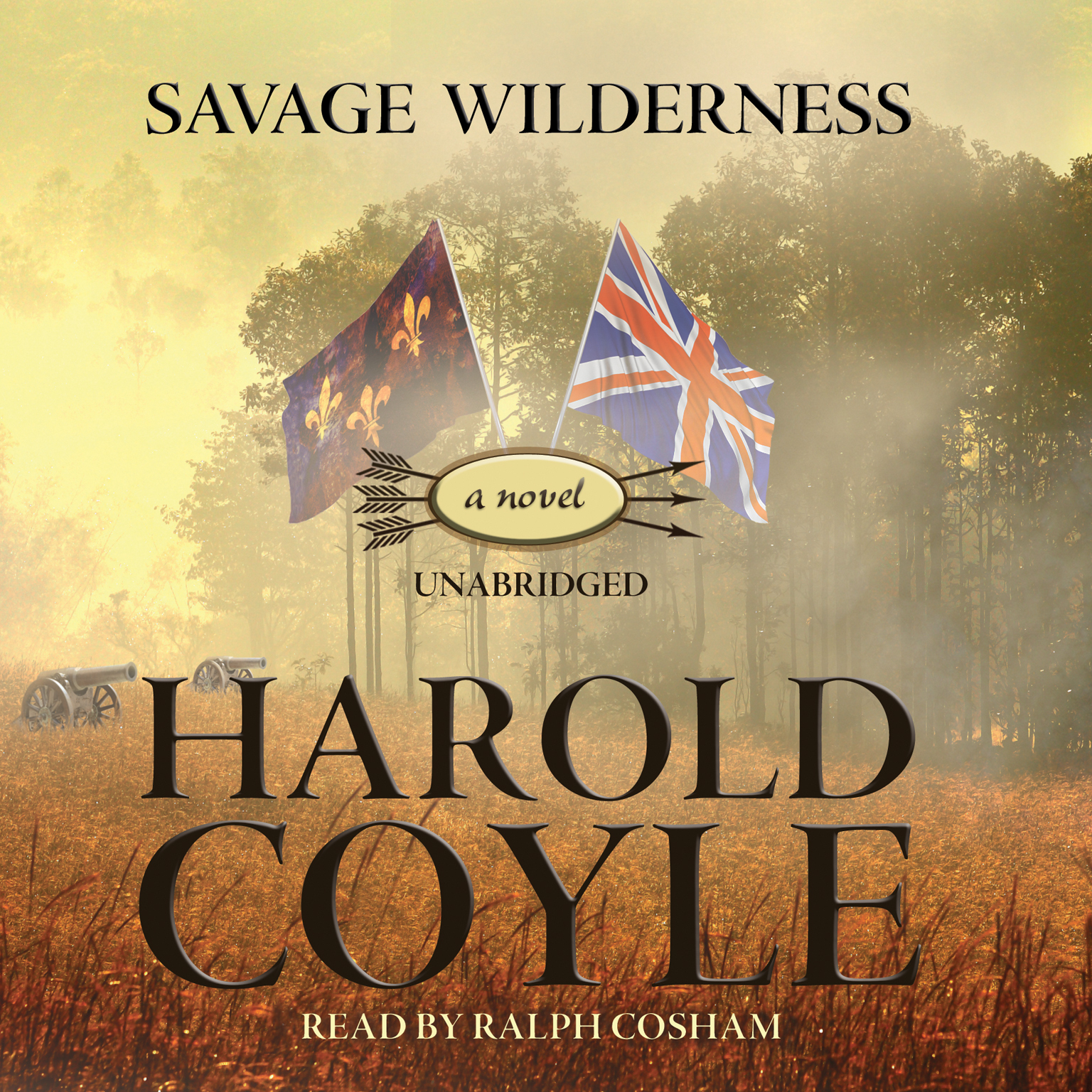 Printable Savage Wilderness Audiobook Cover Art
