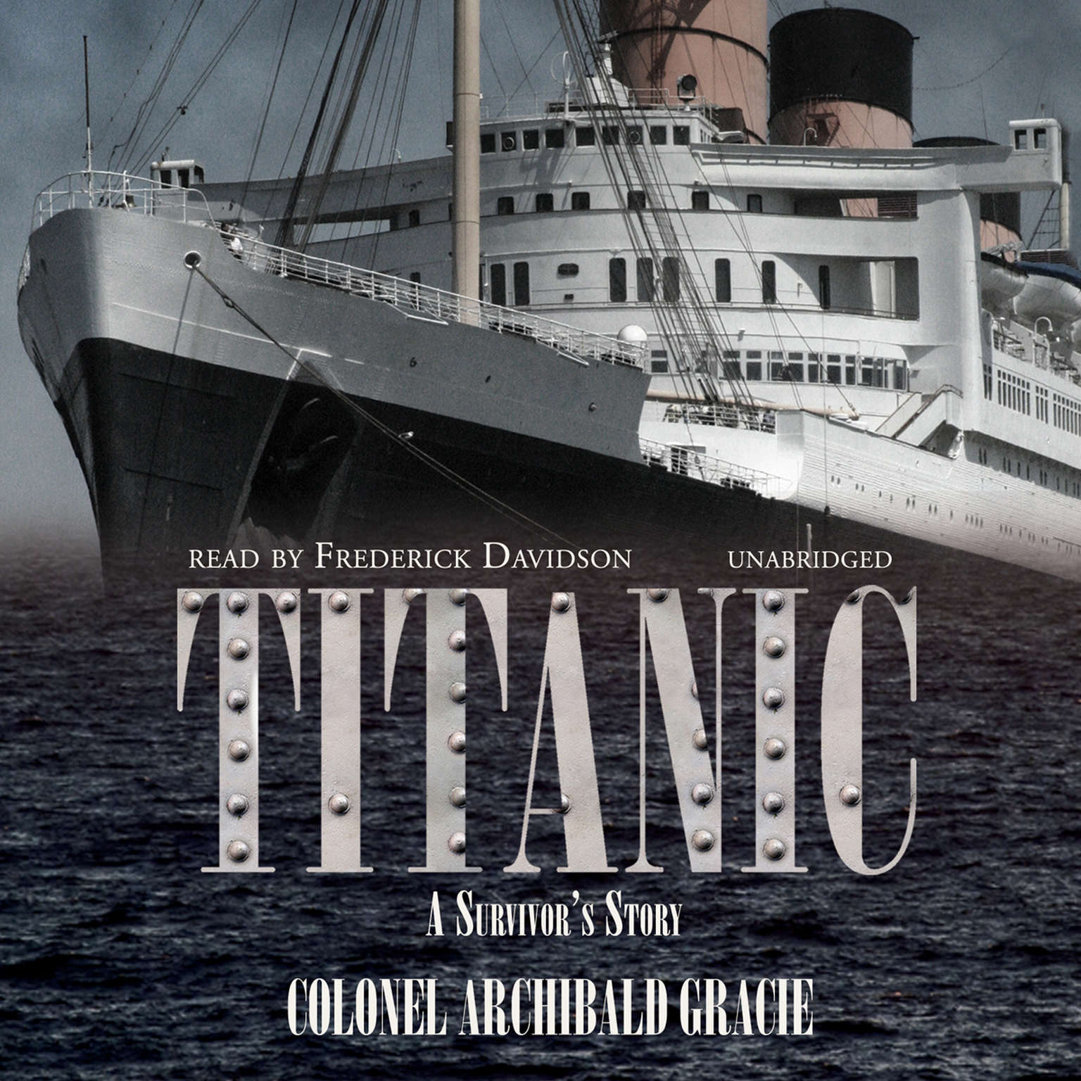 Printable Titanic: A Survivor's Story Audiobook Cover Art