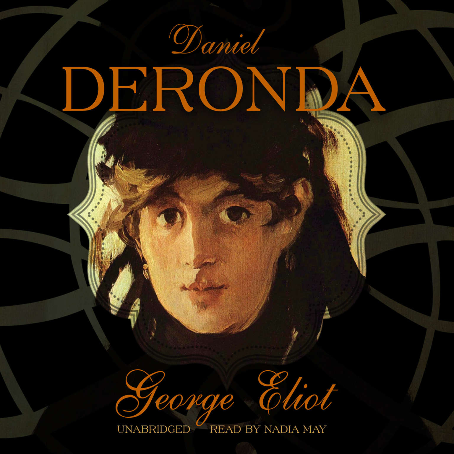 Printable Daniel Deronda Audiobook Cover Art