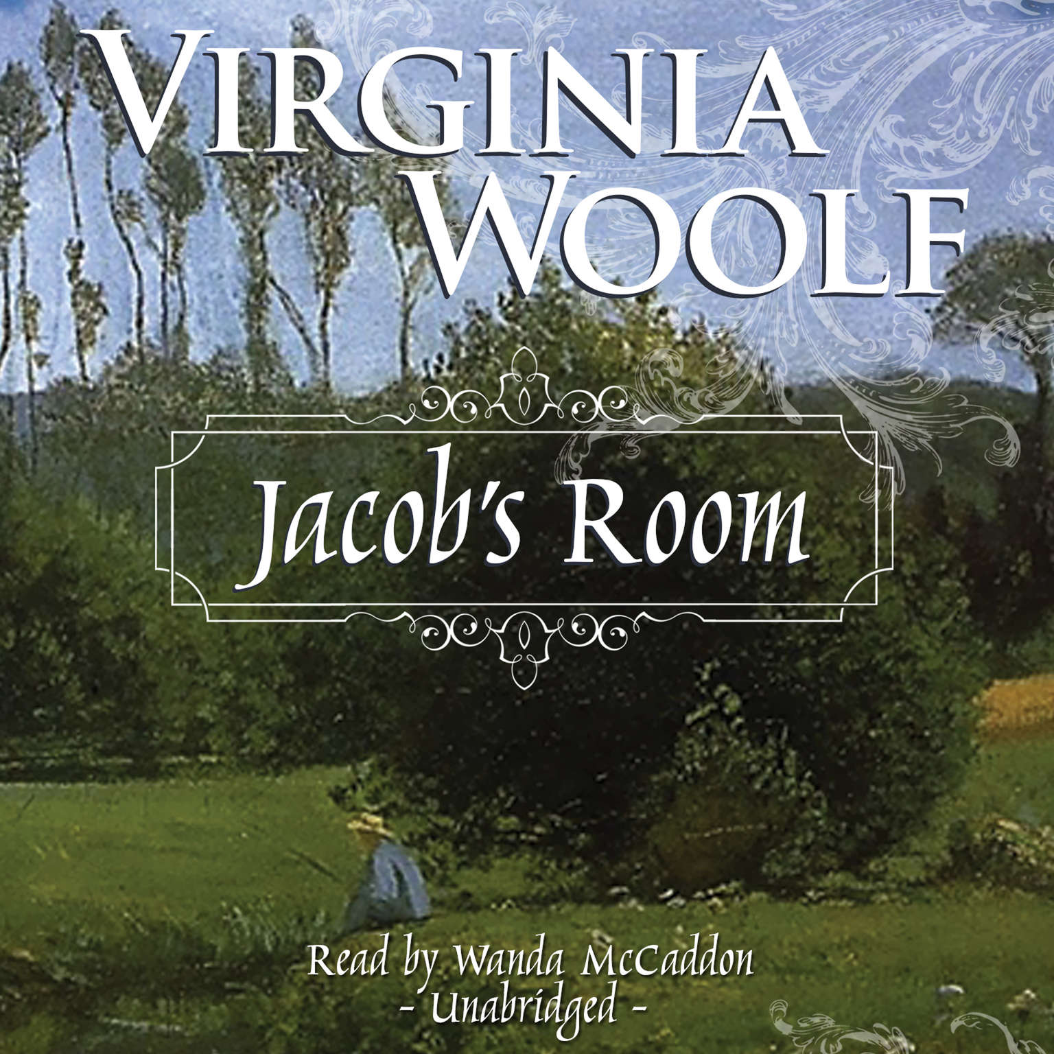 Printable Jacob's Room Audiobook Cover Art