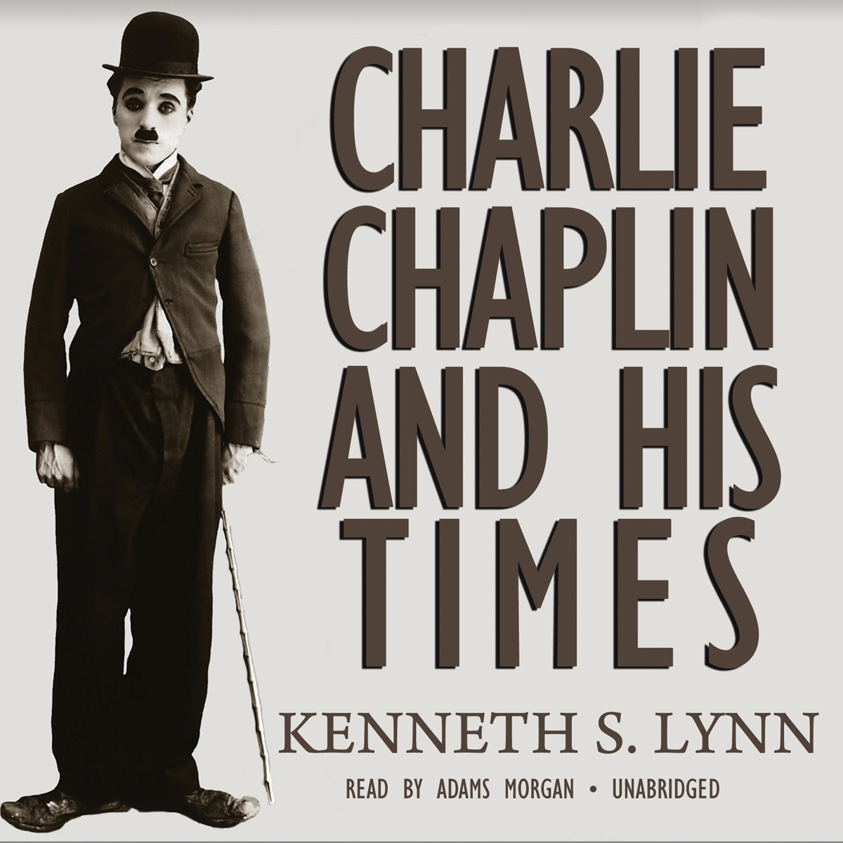 Printable Charlie Chaplin and His Times Audiobook Cover Art