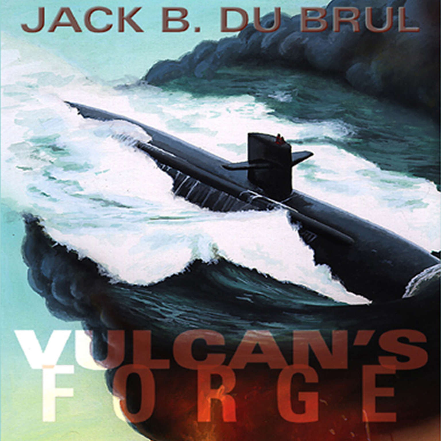 Printable Vulcan's Forge Audiobook Cover Art