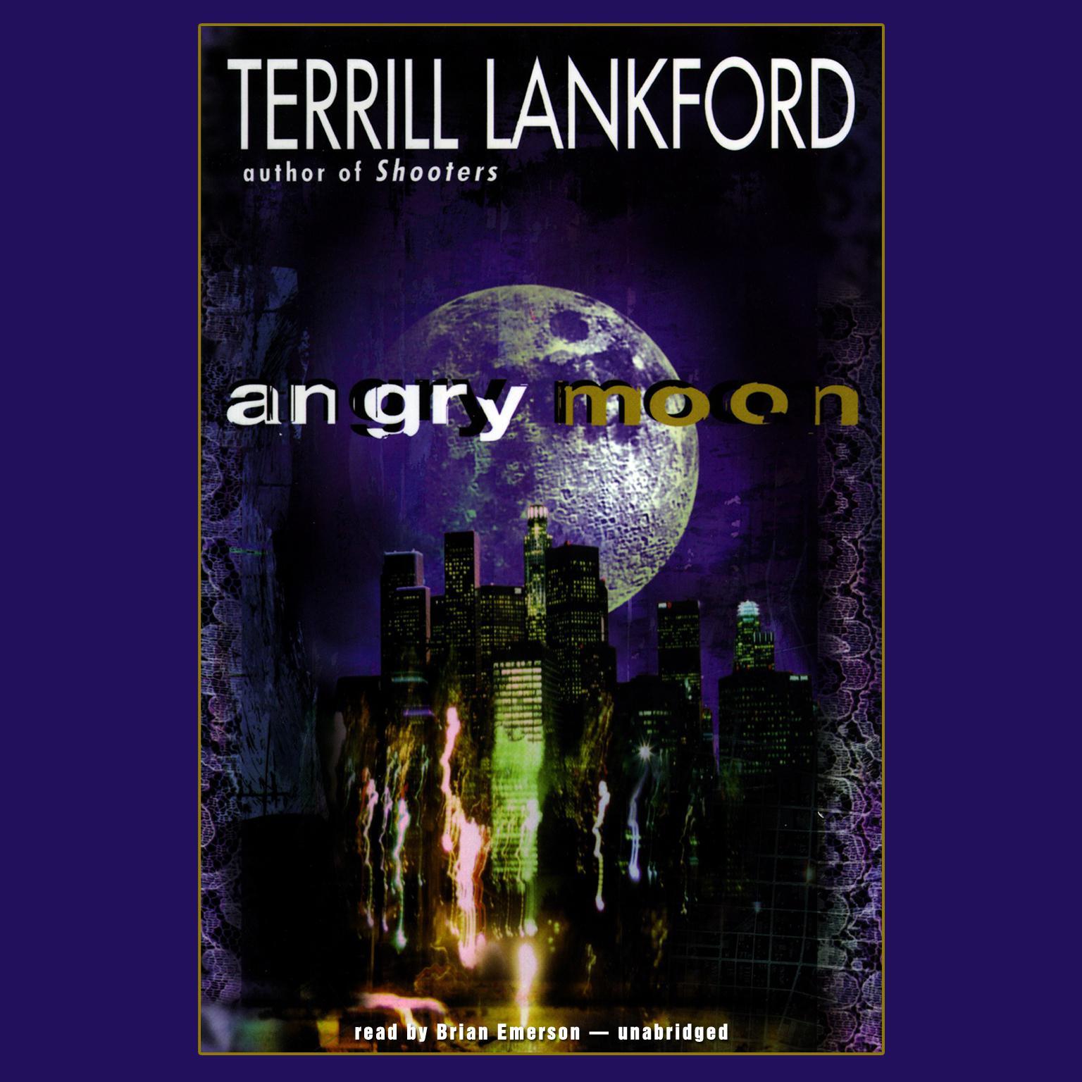 Printable Angry Moon Audiobook Cover Art