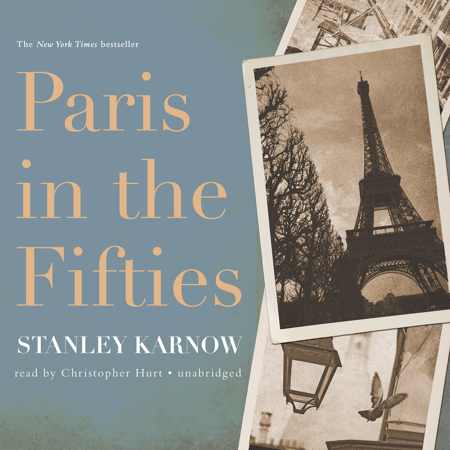 Printable Paris in the Fifties Audiobook Cover Art