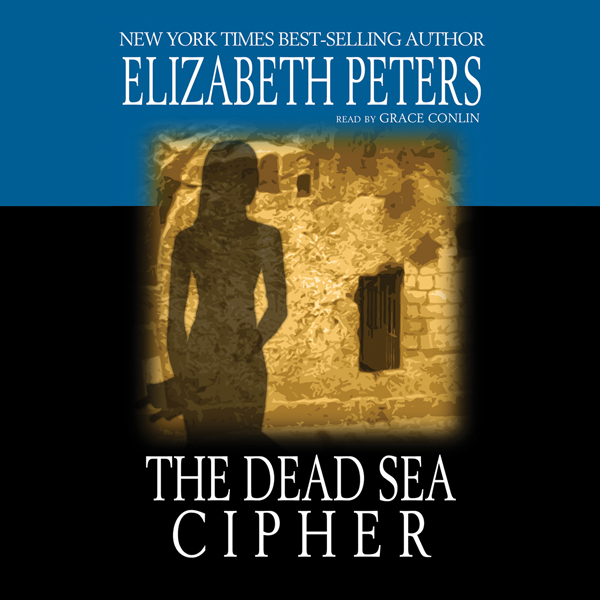 Printable The Dead Sea Cipher Audiobook Cover Art