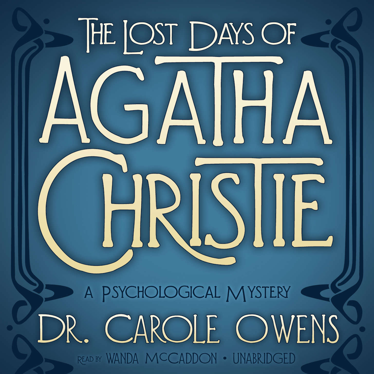 Printable The Lost Days of Agatha Christie: A Psychological Mystery Audiobook Cover Art