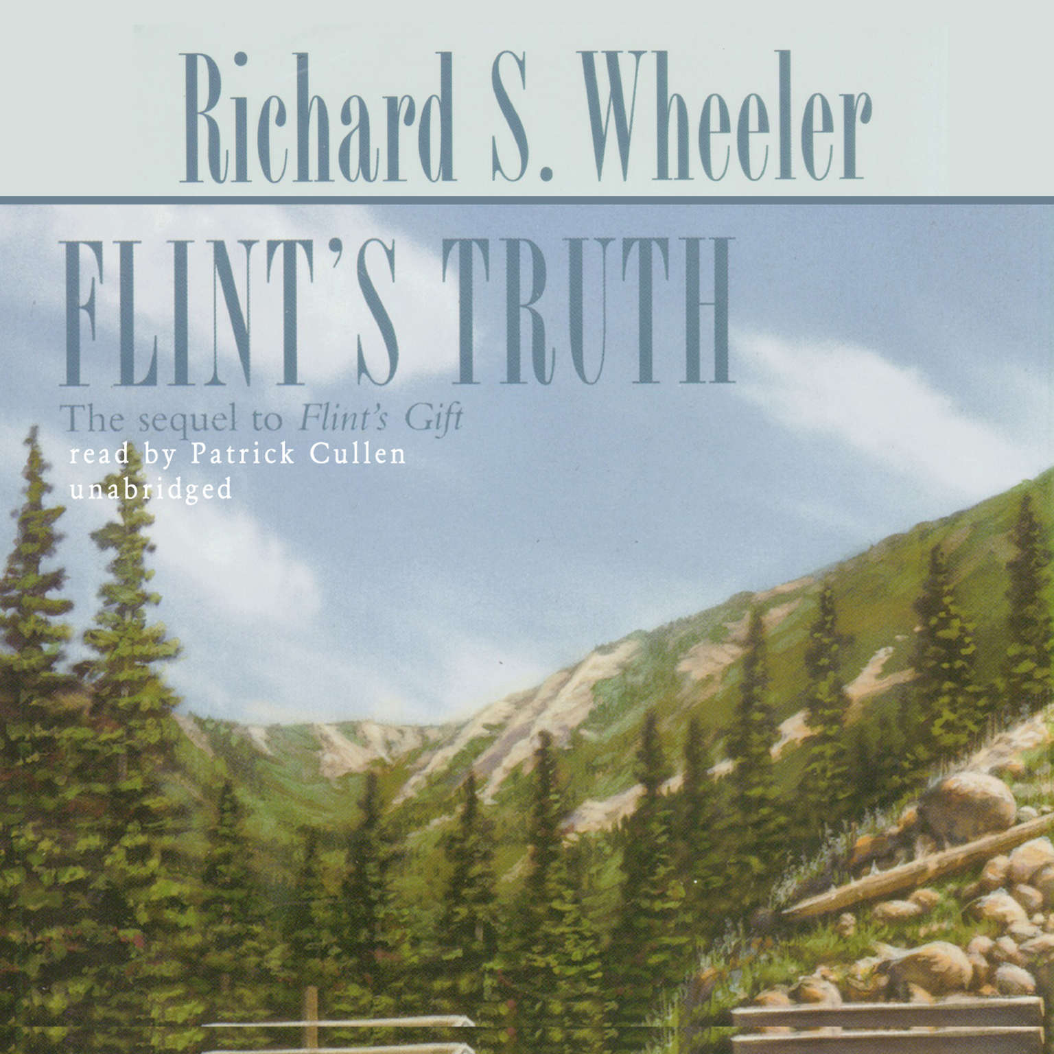Printable Flint's Truth Audiobook Cover Art