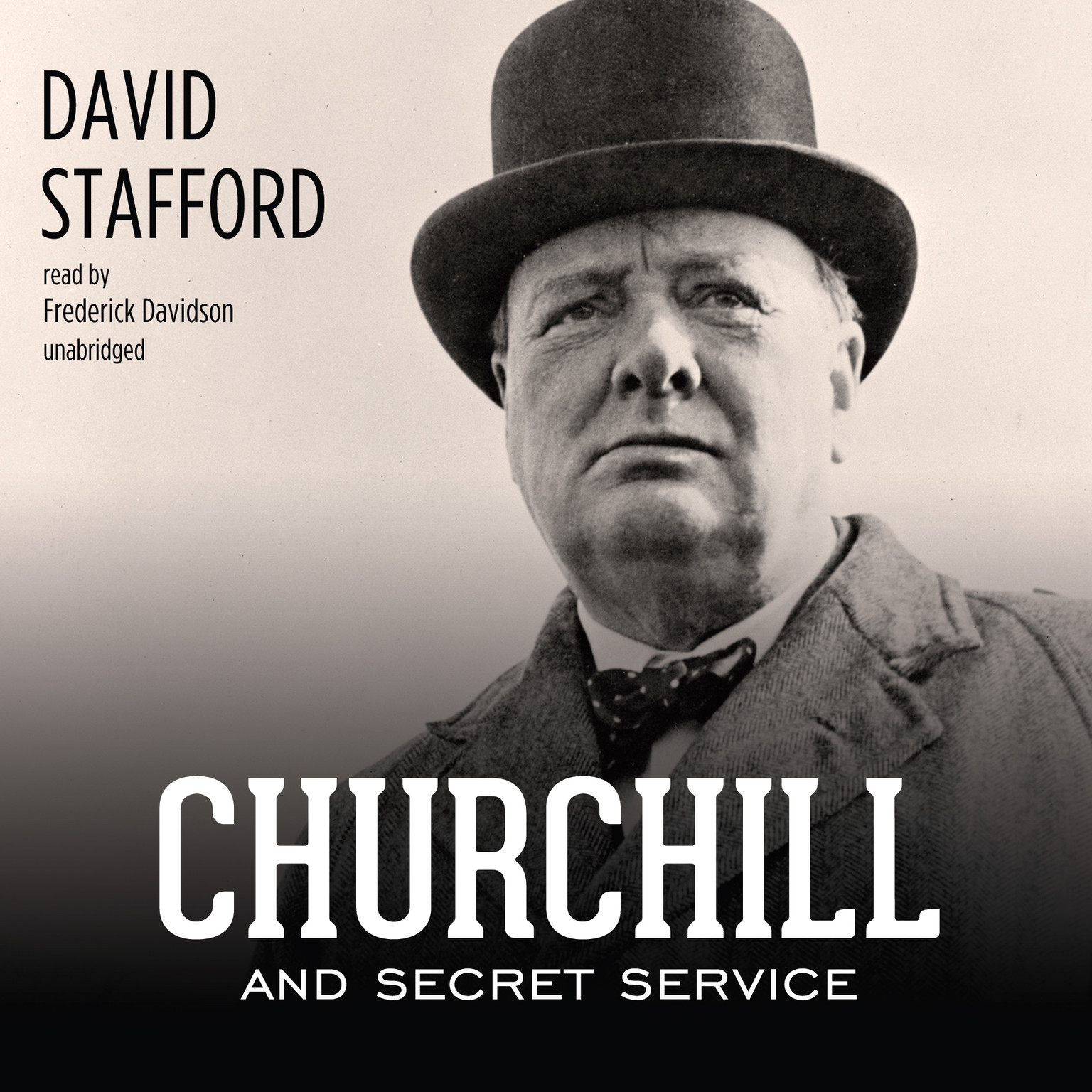 Printable Churchill and Secret Service Audiobook Cover Art
