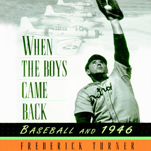 Printable When the Boys Came Back: Baseball and 1946 Audiobook Cover Art