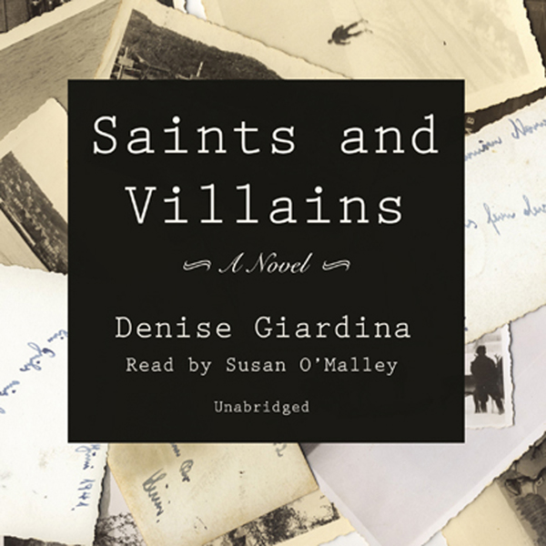 Printable Saints and Villains Audiobook Cover Art