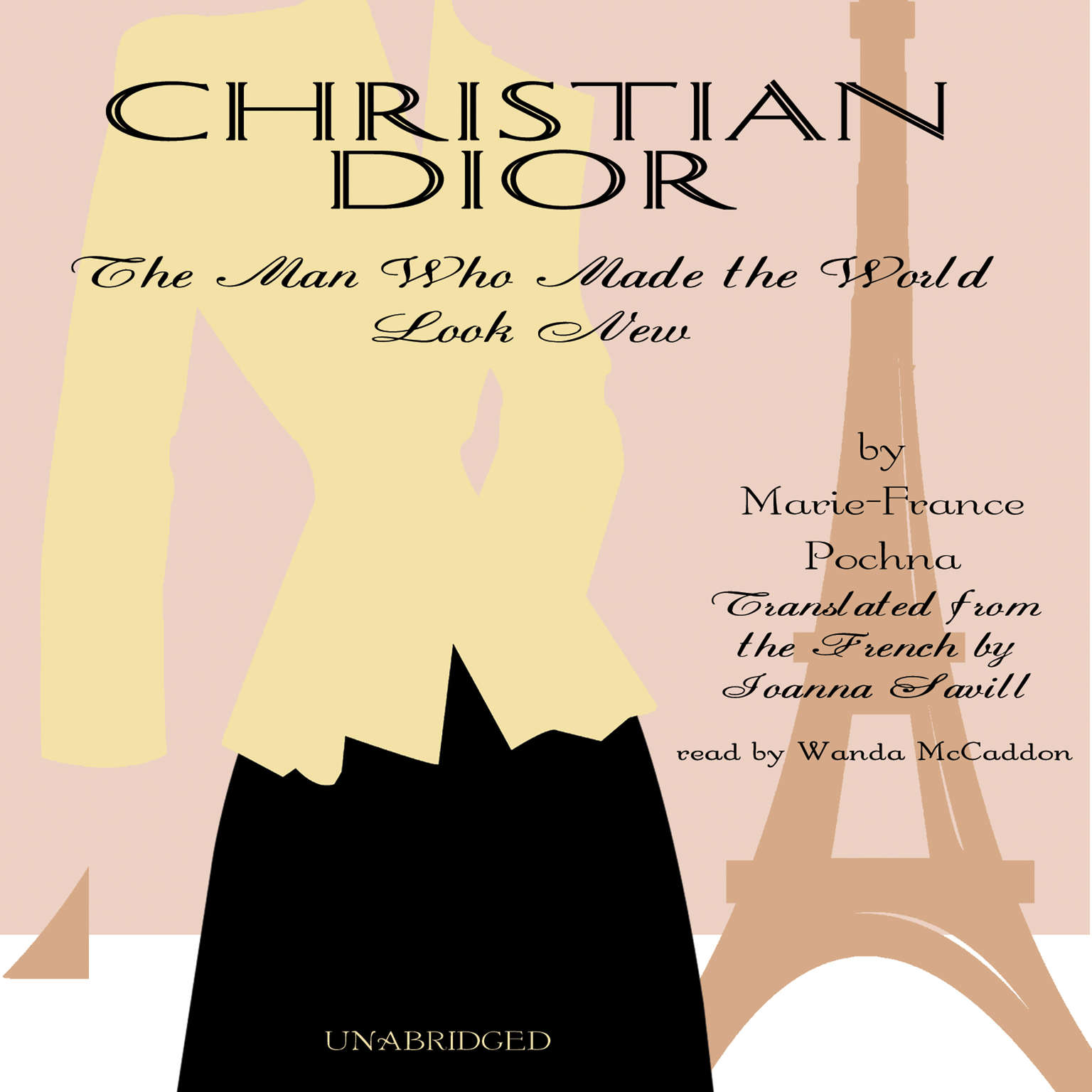 Printable Christian Dior: The Man Who Made the World Look New Audiobook Cover Art