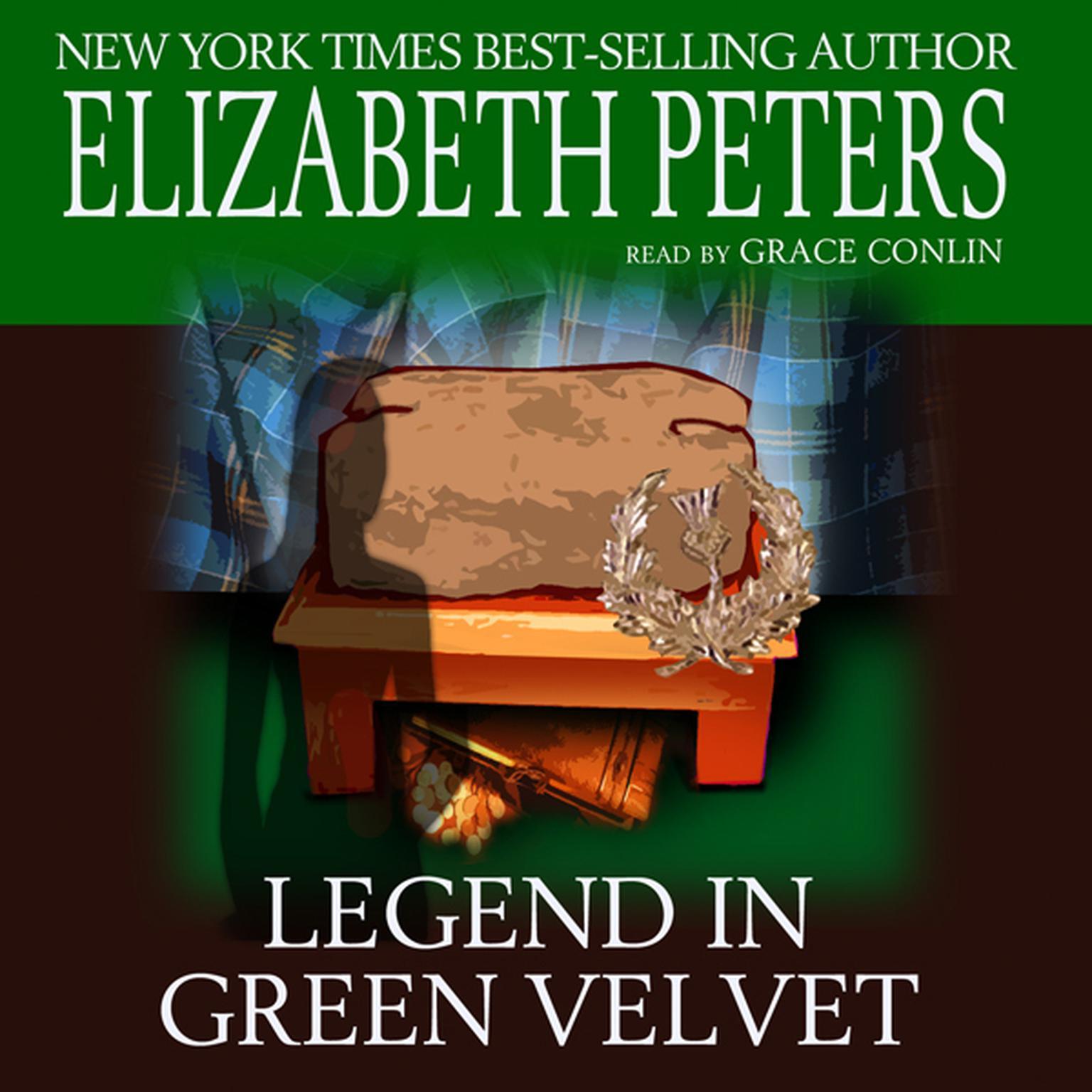 Printable Legend in Green Velvet Audiobook Cover Art