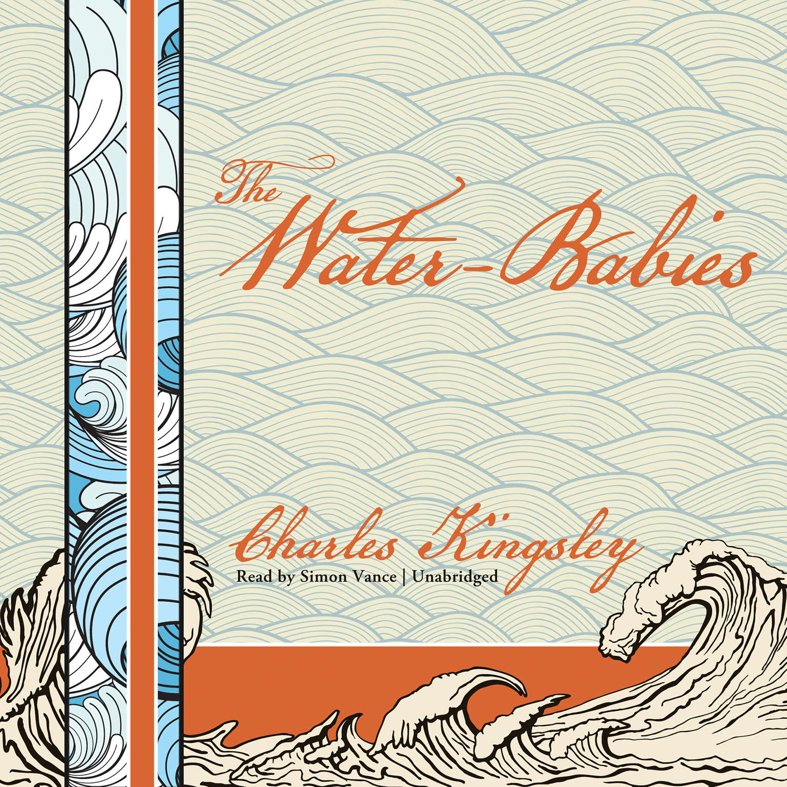 Printable The Water-Babies: A Fairy Tale for a Land-Baby Audiobook Cover Art