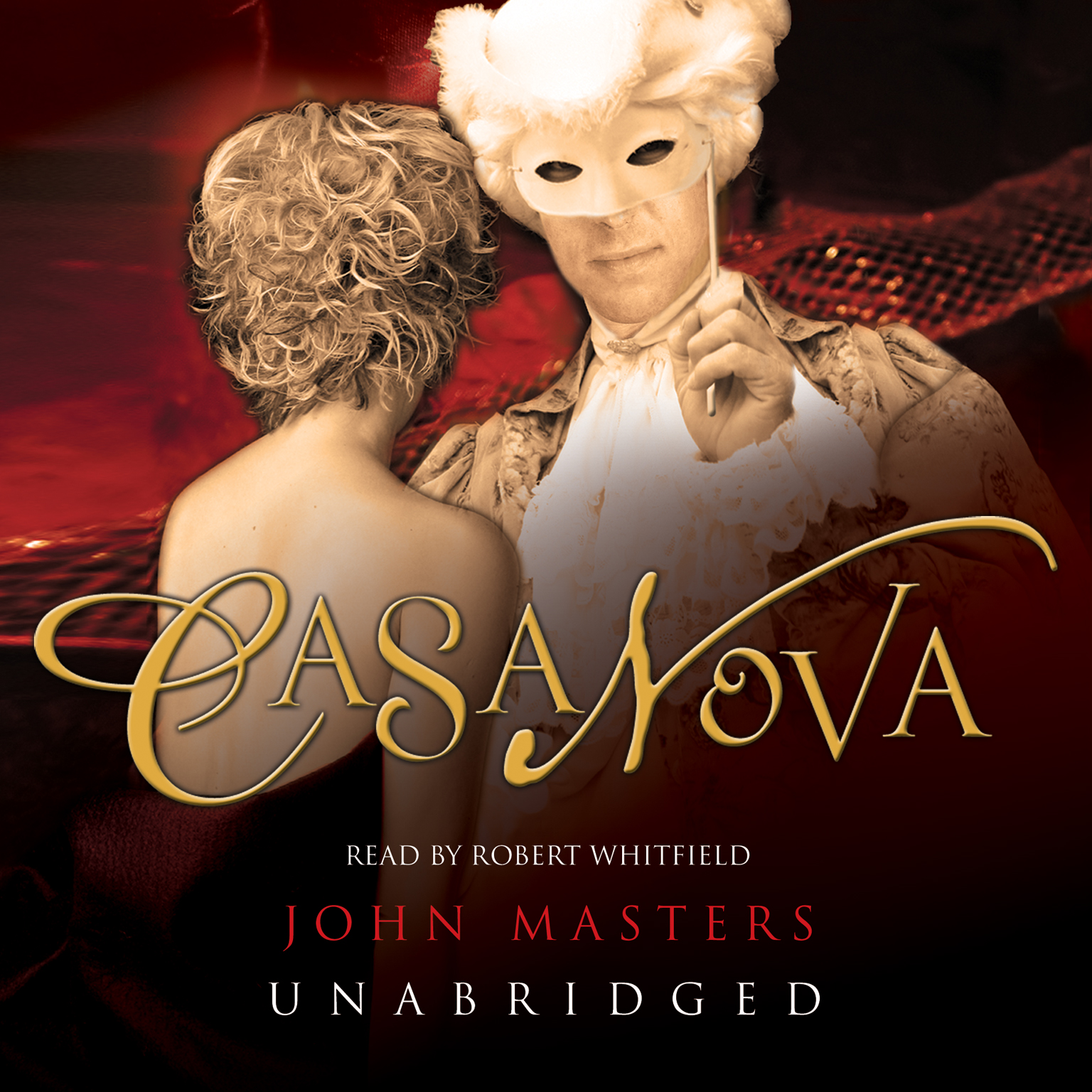 Printable Casanova Audiobook Cover Art