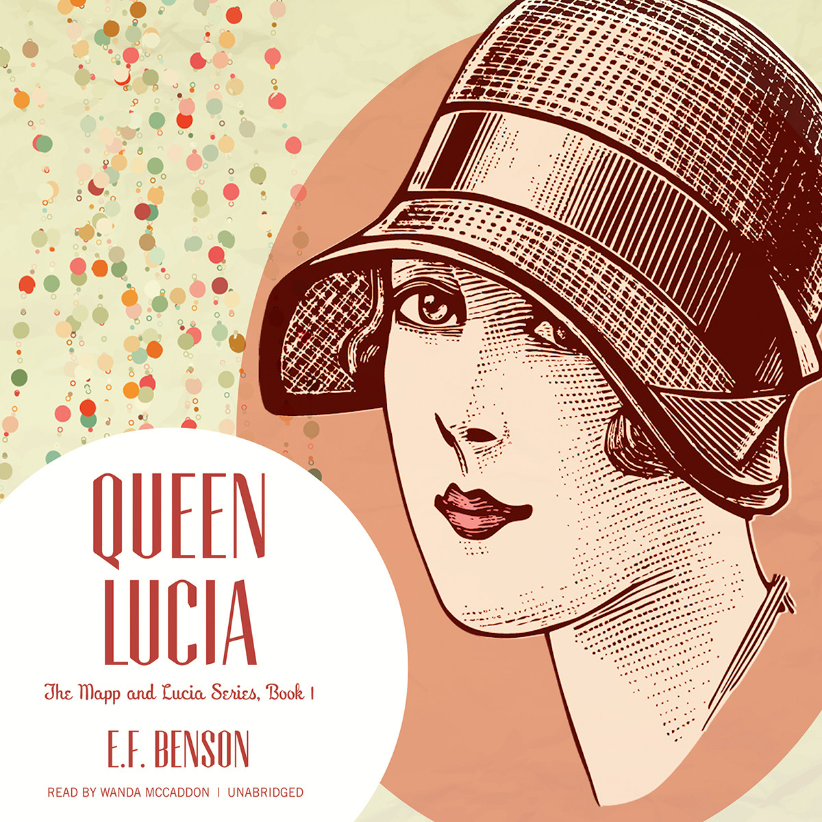 Printable Queen Lucia Audiobook Cover Art