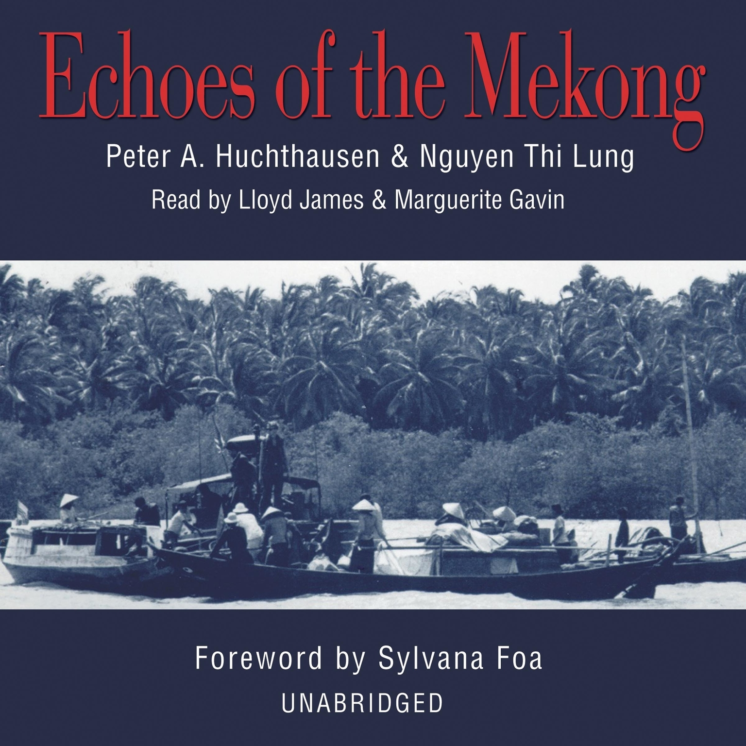 Printable Echoes of the Mekong Audiobook Cover Art