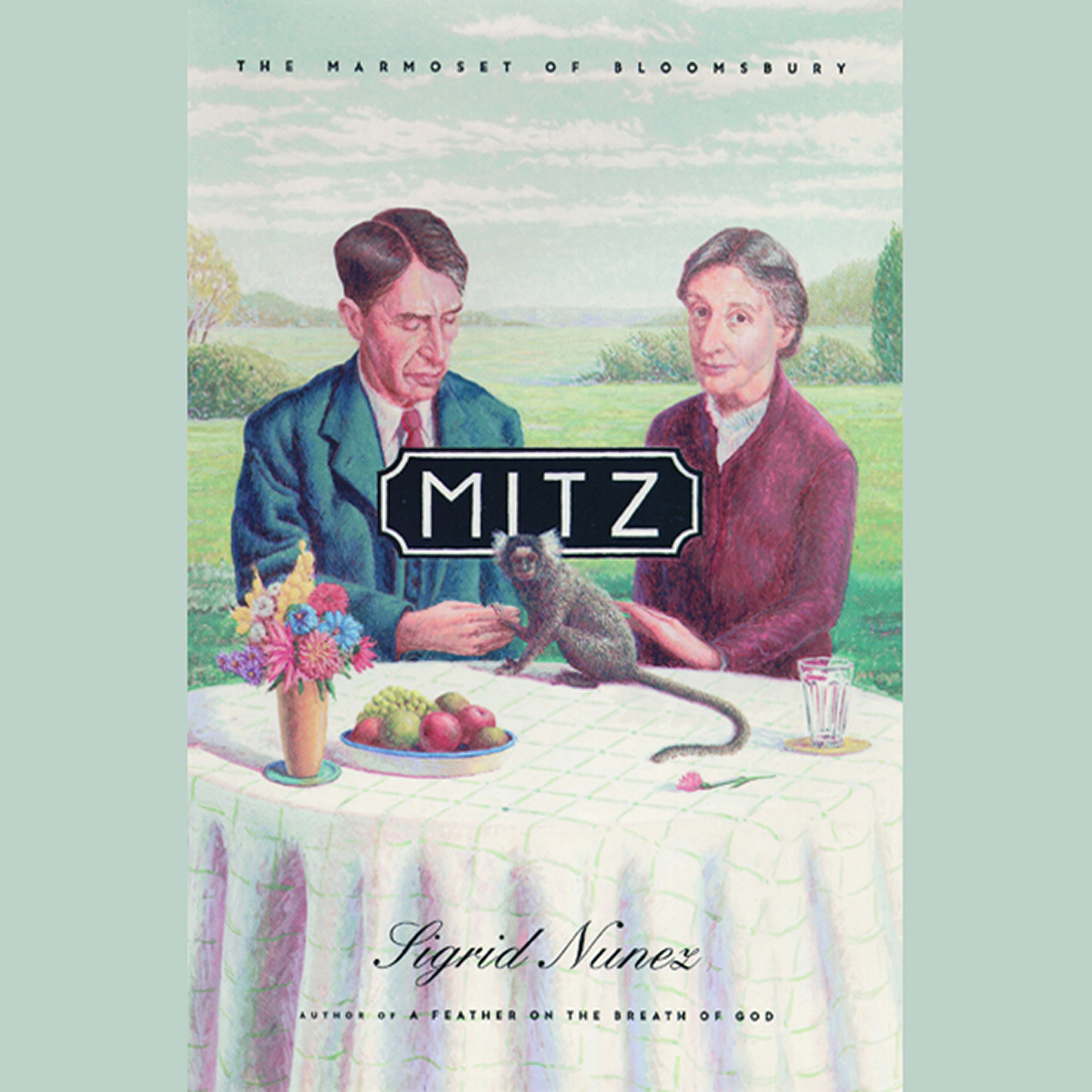 Printable Mitz: The Marmoset of Bloomsbury Audiobook Cover Art