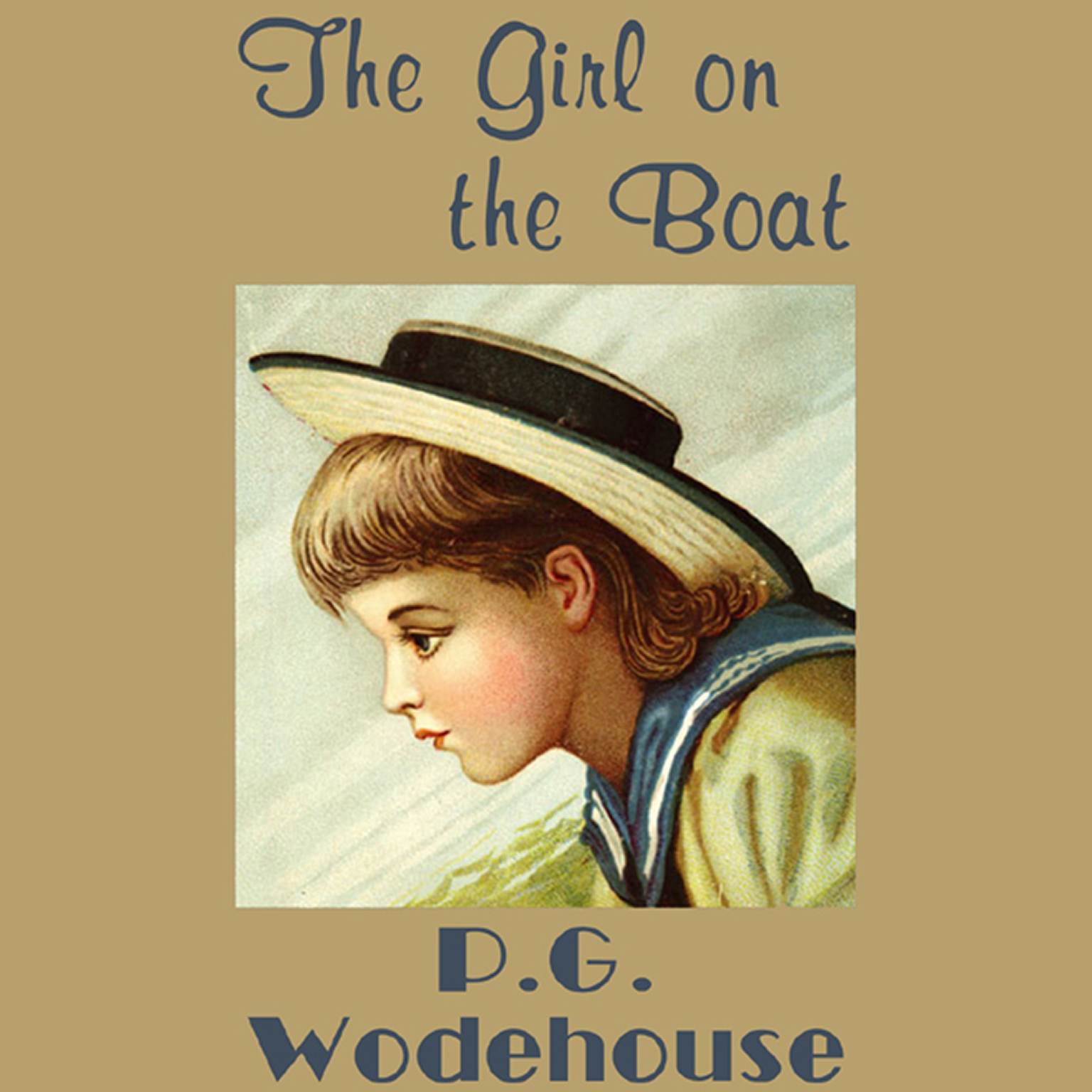 Printable The Girl on the Boat Audiobook Cover Art