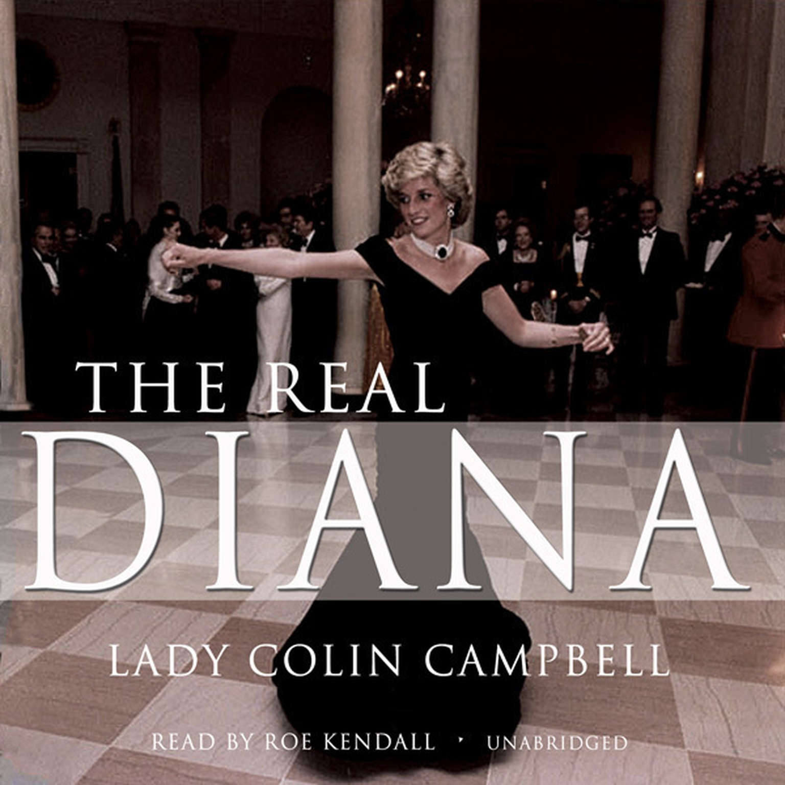 Printable The Real Diana Audiobook Cover Art