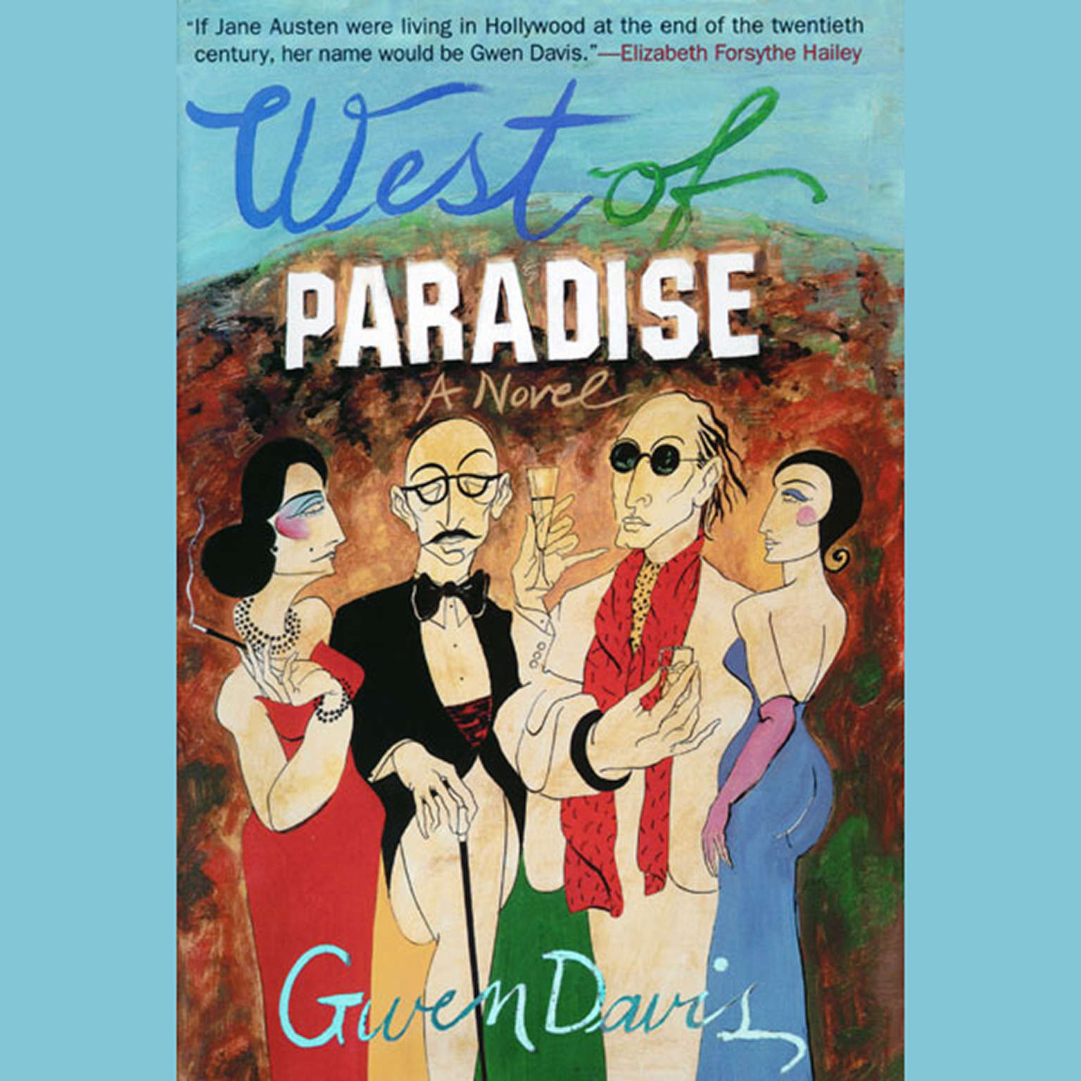 Printable West of Paradise Audiobook Cover Art