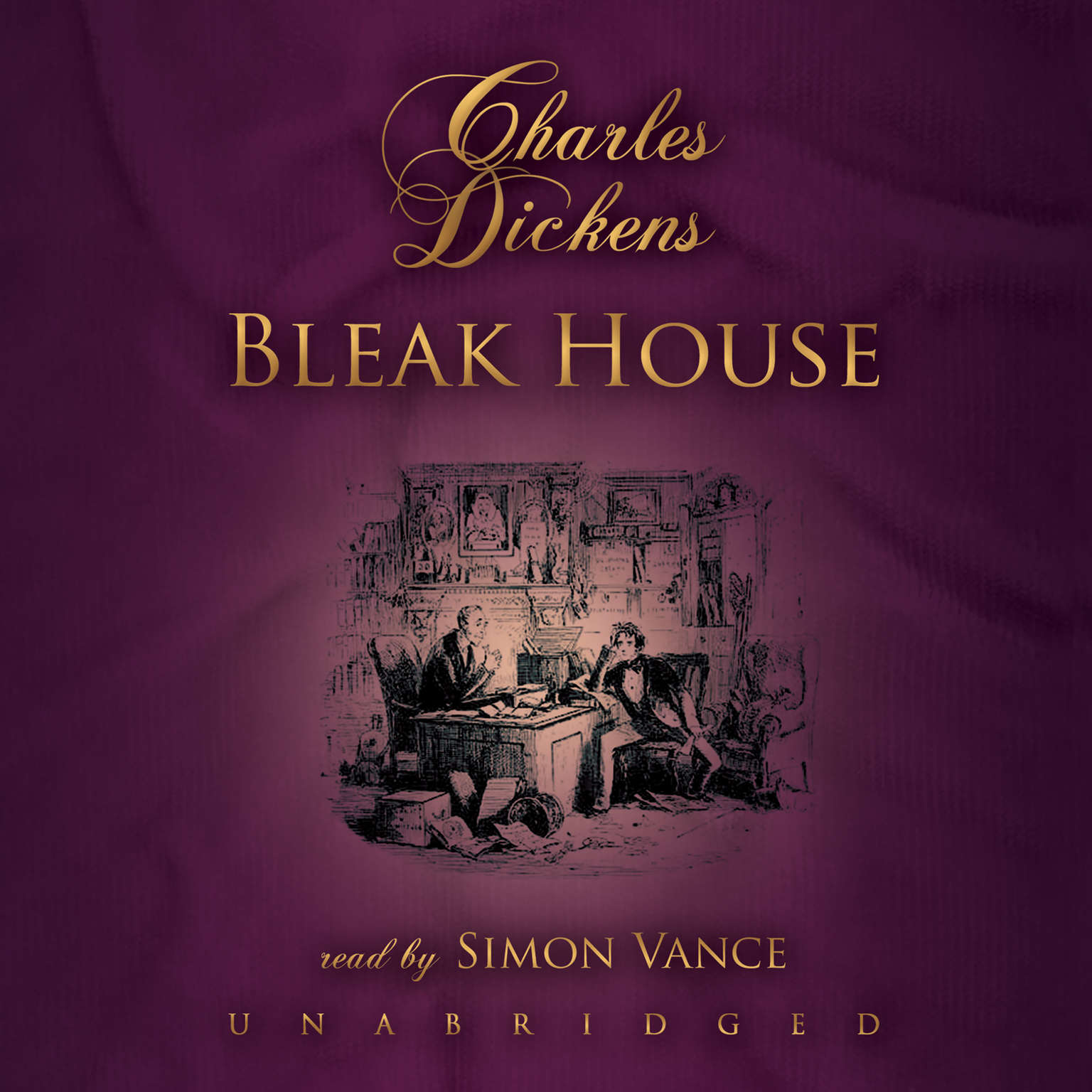 Printable Bleak House Audiobook Cover Art