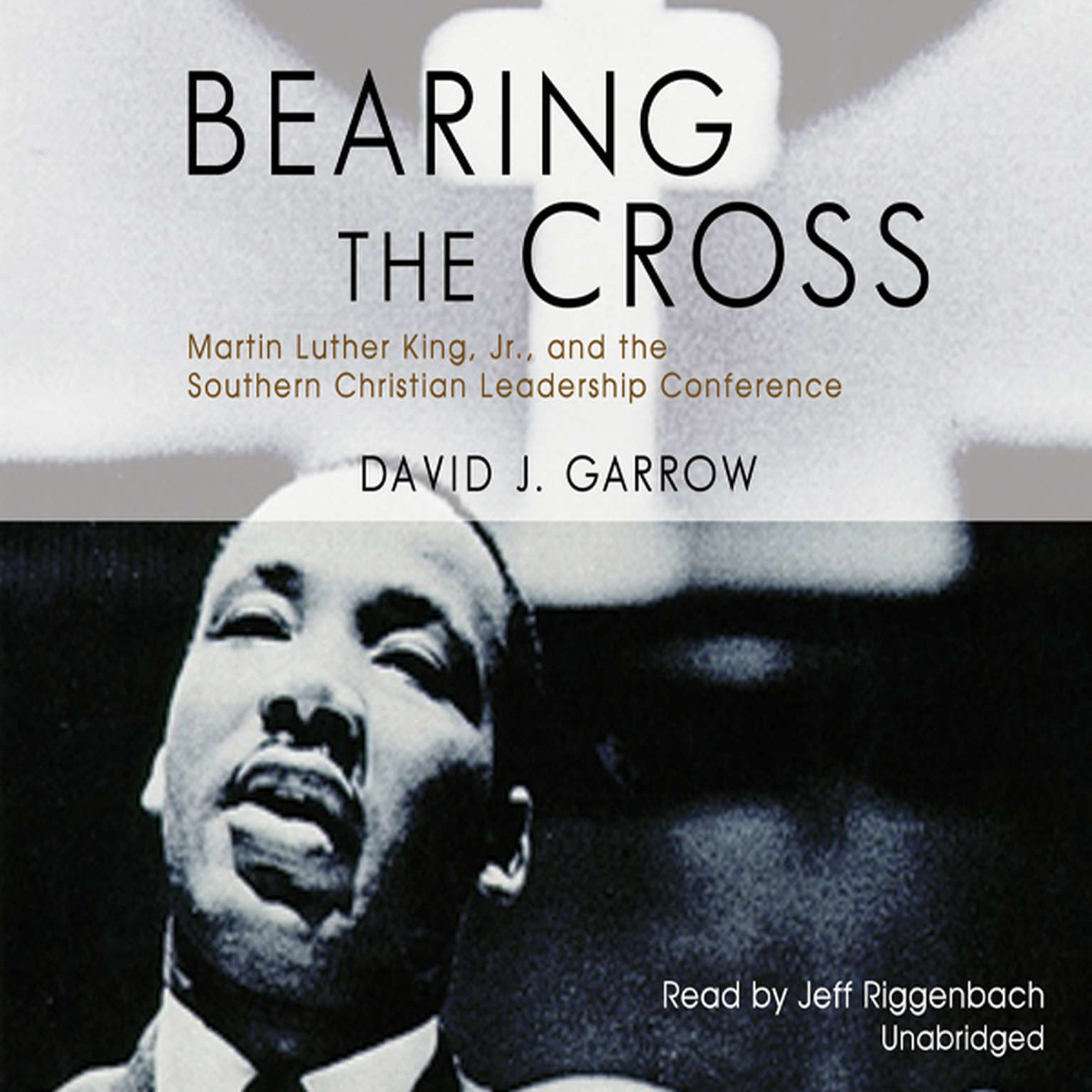Printable Bearing the Cross: Martin Luther King, Jr., and the Southern Christian Leadership Conference Audiobook Cover Art