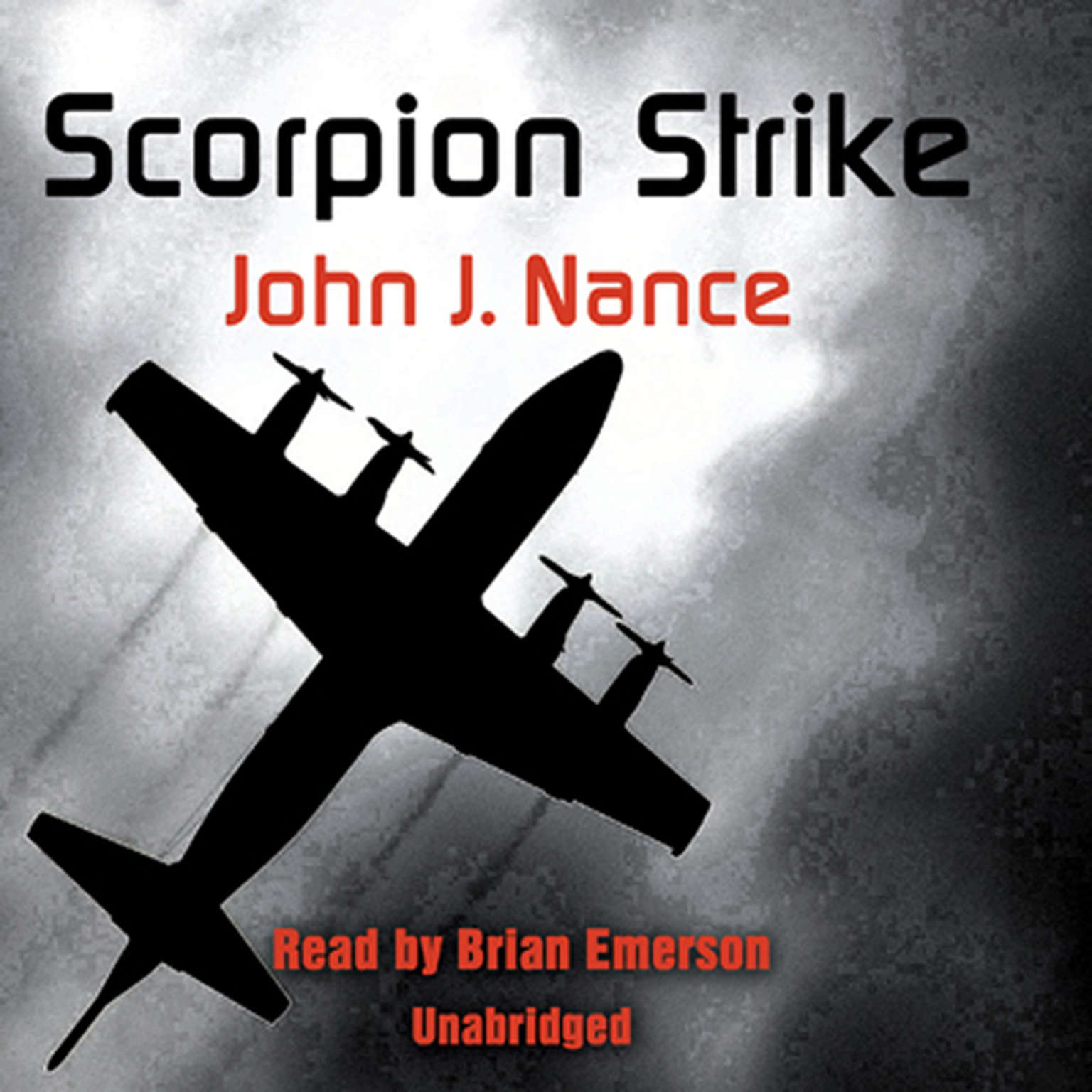 Printable Scorpion Strike Audiobook Cover Art