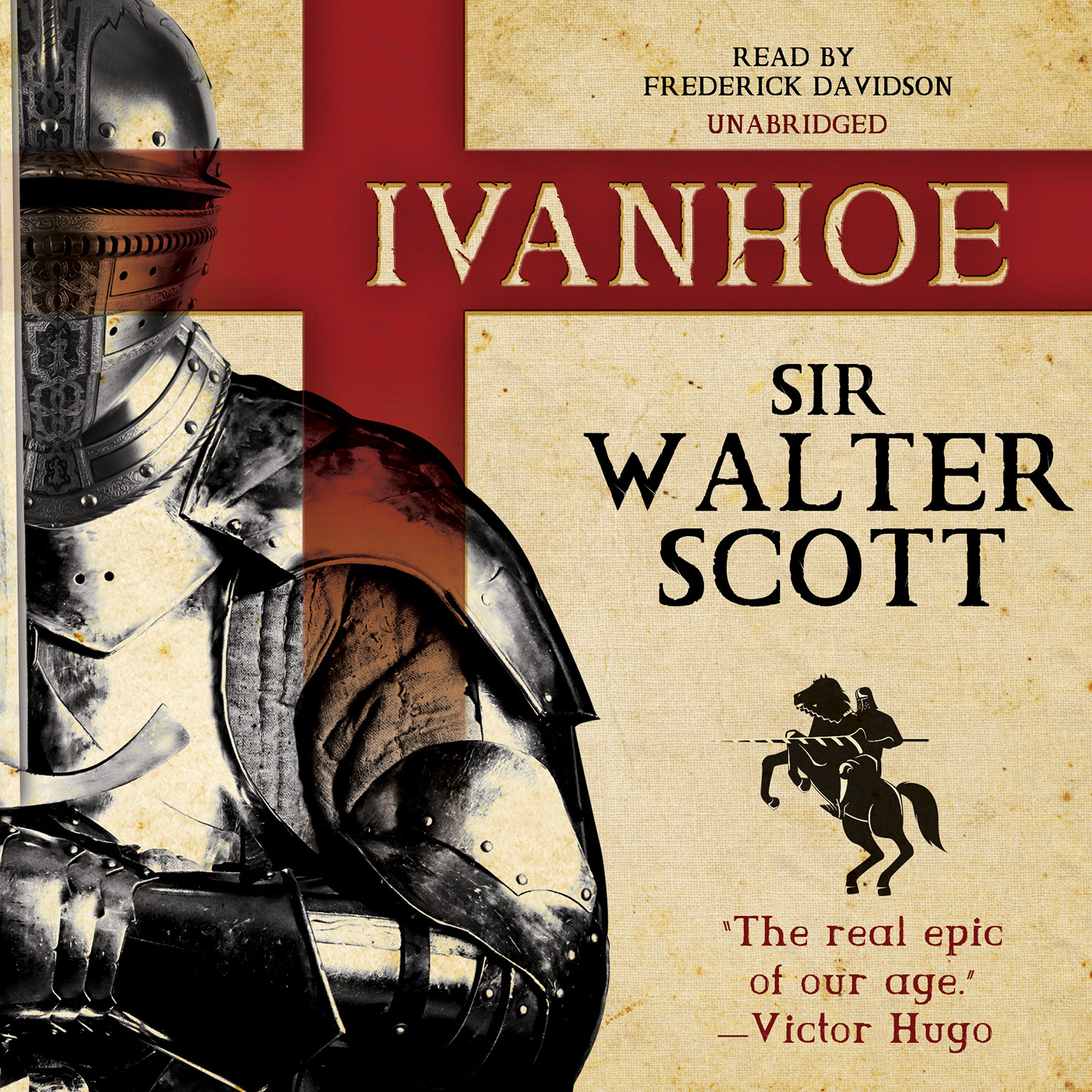 Printable Ivanhoe Audiobook Cover Art