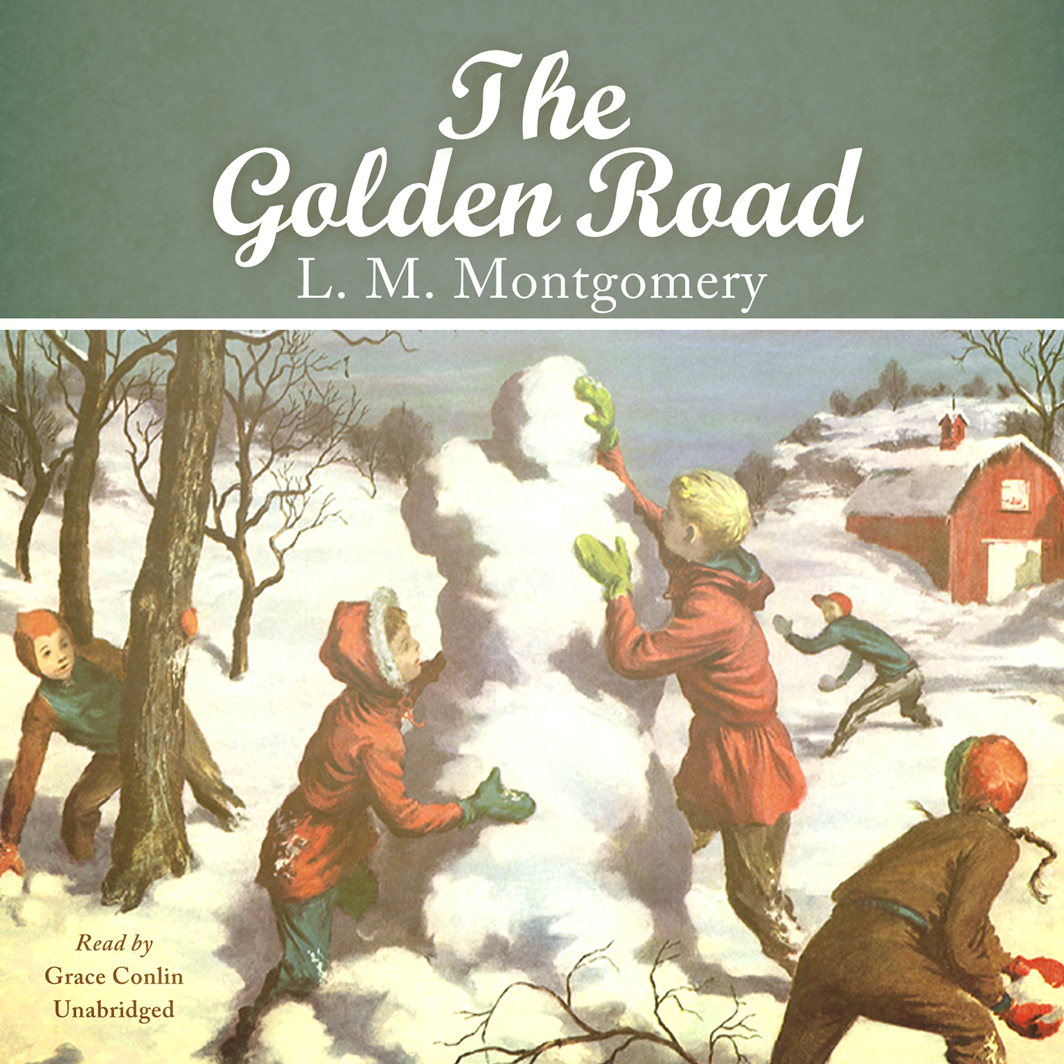 Printable The Golden Road Audiobook Cover Art