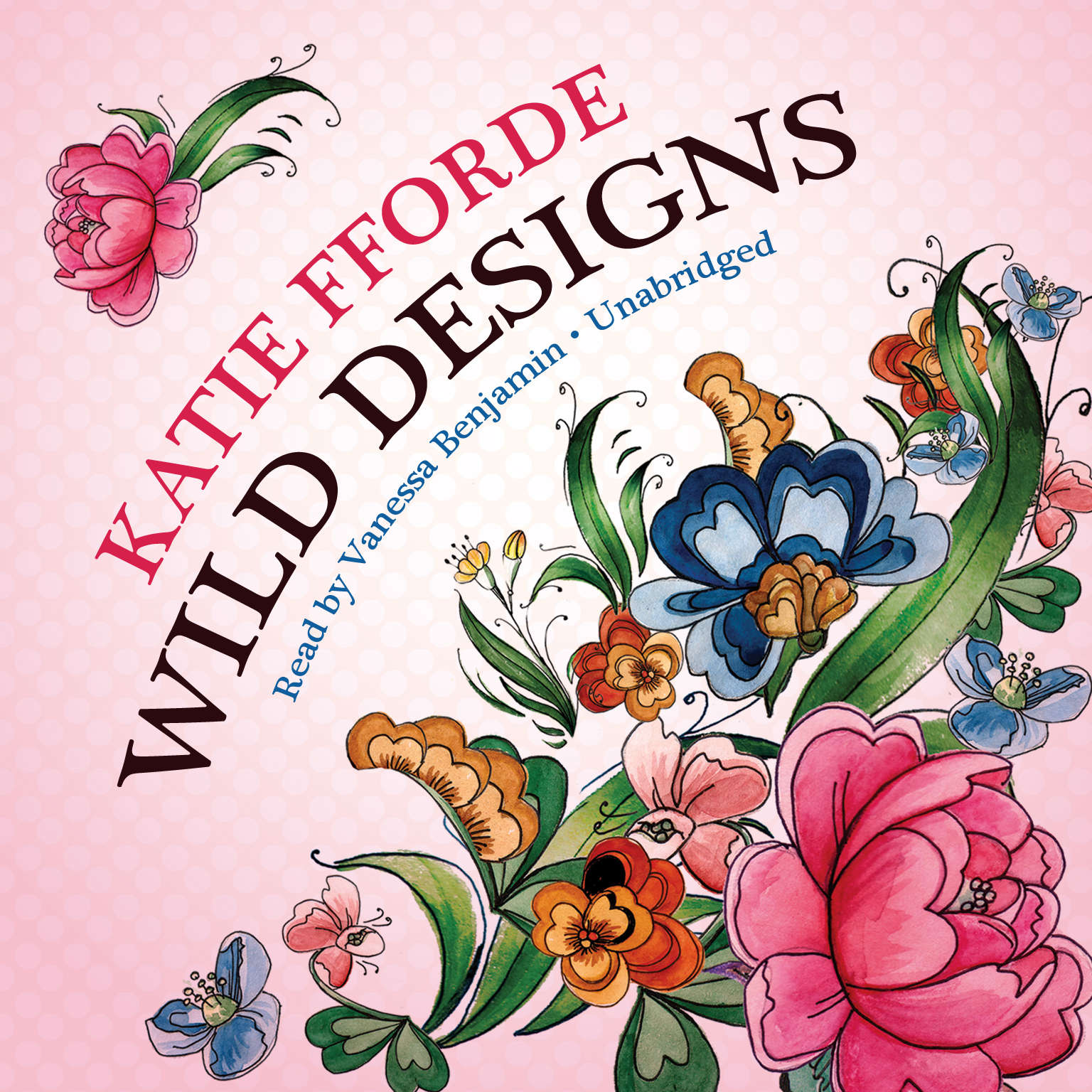 Printable Wild Designs Audiobook Cover Art