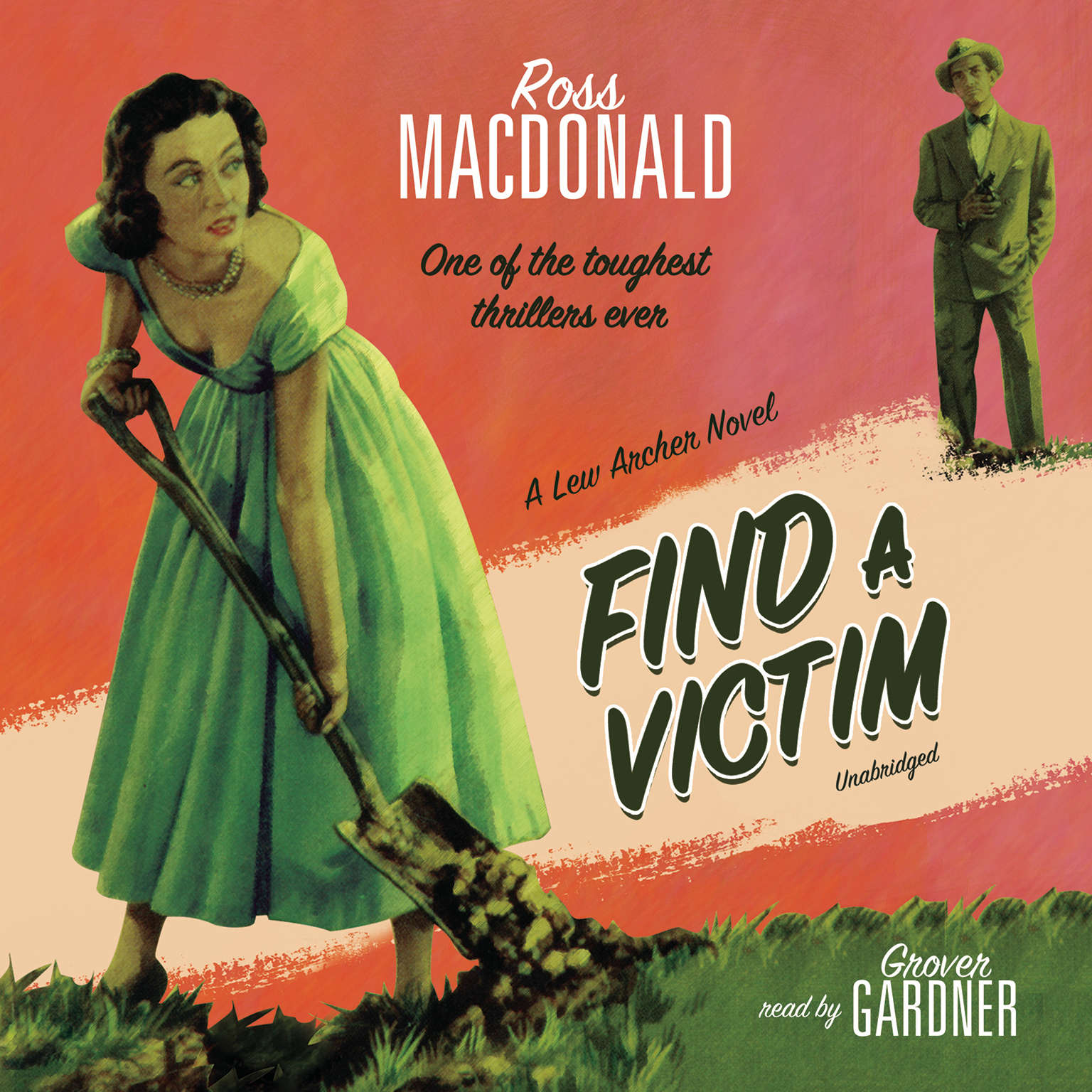 Printable Find a Victim: A Lew Archer Novel Audiobook Cover Art