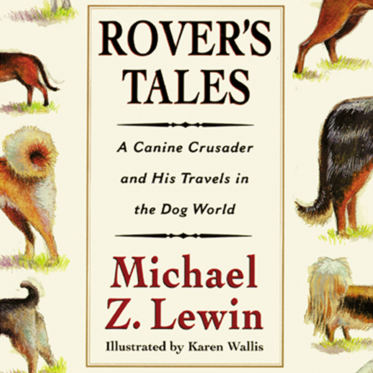 Printable Rover's Tales Audiobook Cover Art