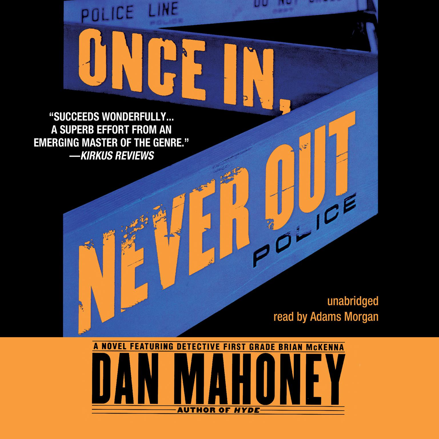 Printable Once In, Never Out Audiobook Cover Art