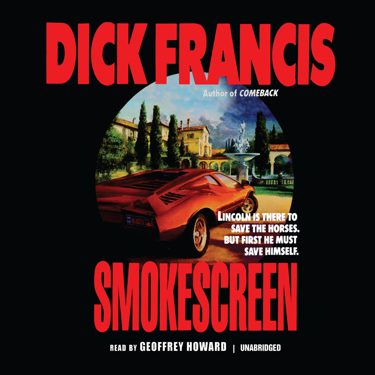 Printable Smokescreen Audiobook Cover Art