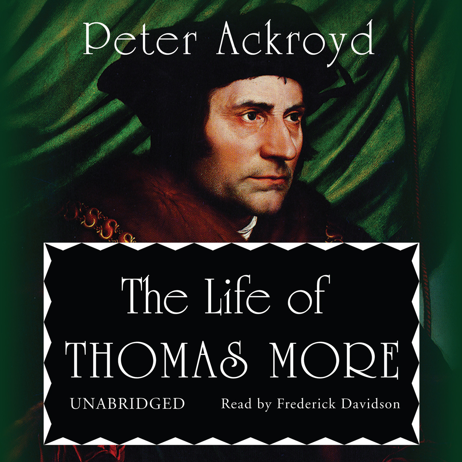 Printable The Life of Thomas More Audiobook Cover Art