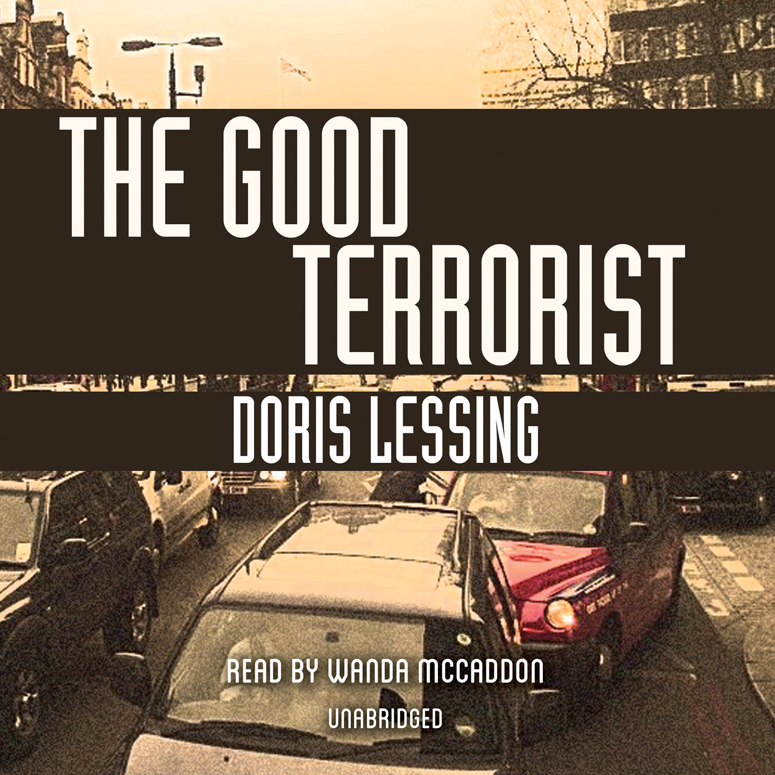 Printable The Good Terrorist Audiobook Cover Art