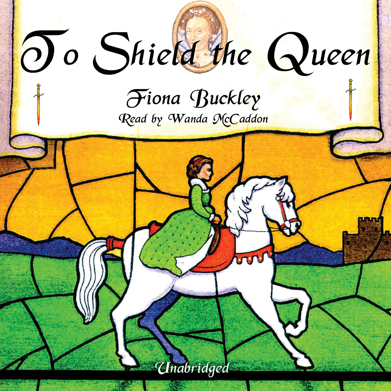 Printable To Shield the Queen: A Mystery at Queen Elizabeth I's Court Audiobook Cover Art