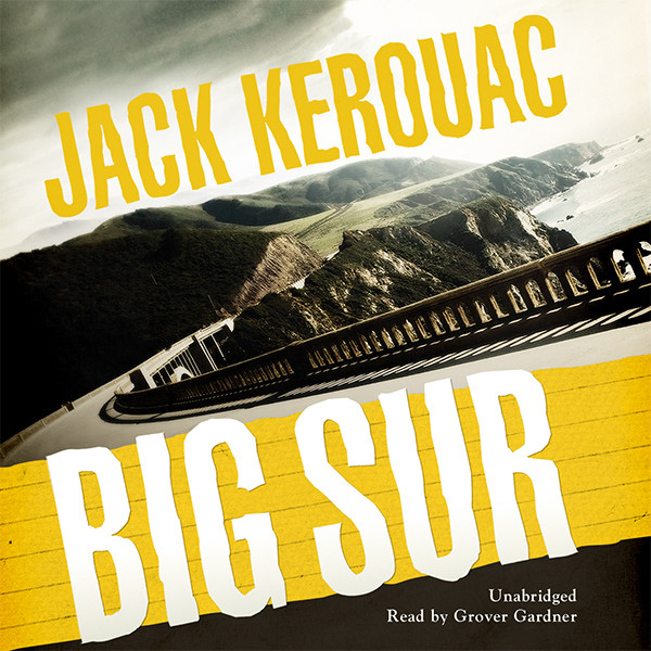 Printable Big Sur Audiobook Cover Art