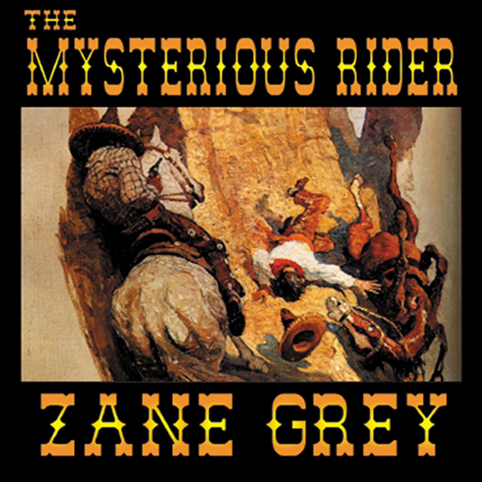 Printable The Mysterious Rider Audiobook Cover Art