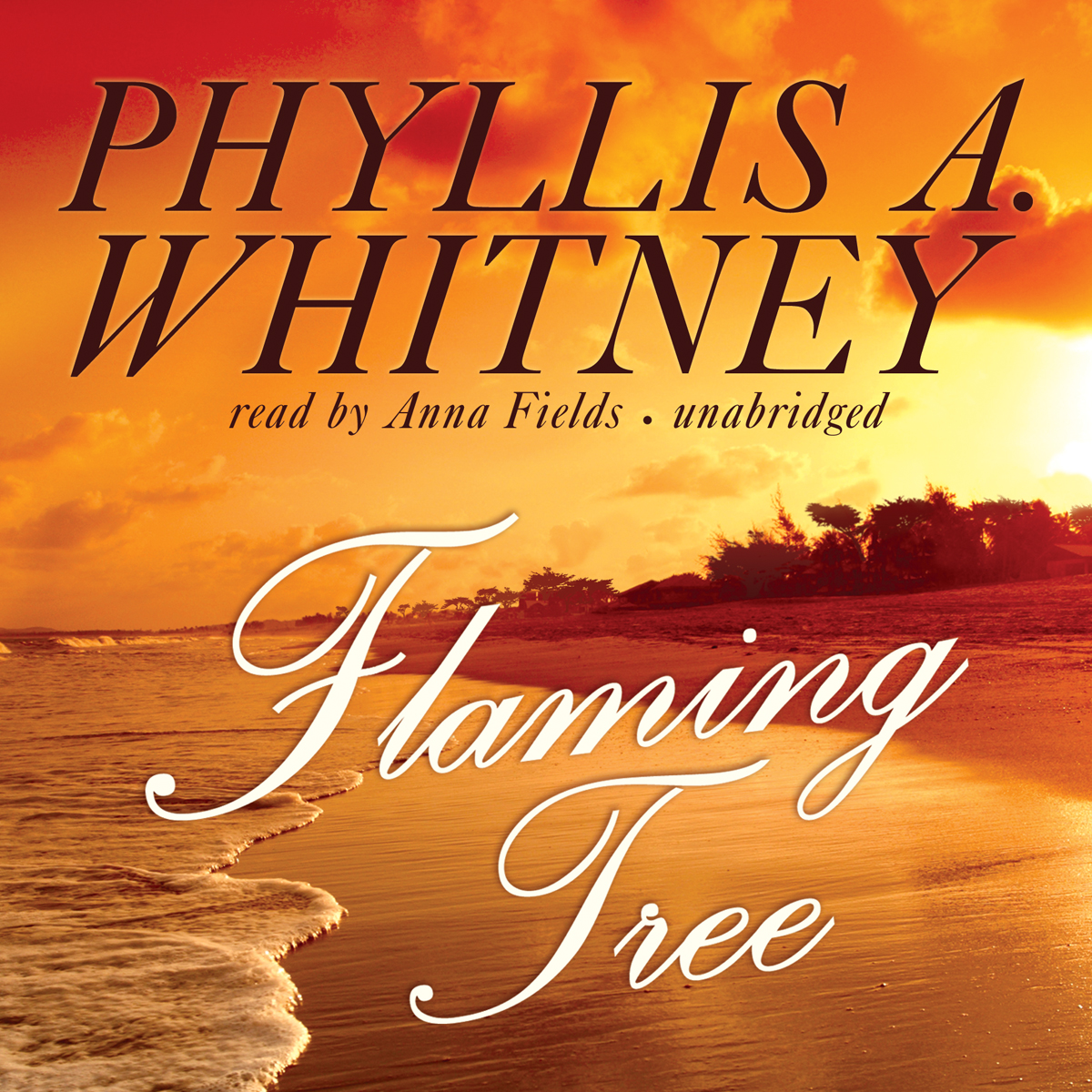 Printable Flaming Tree Audiobook Cover Art