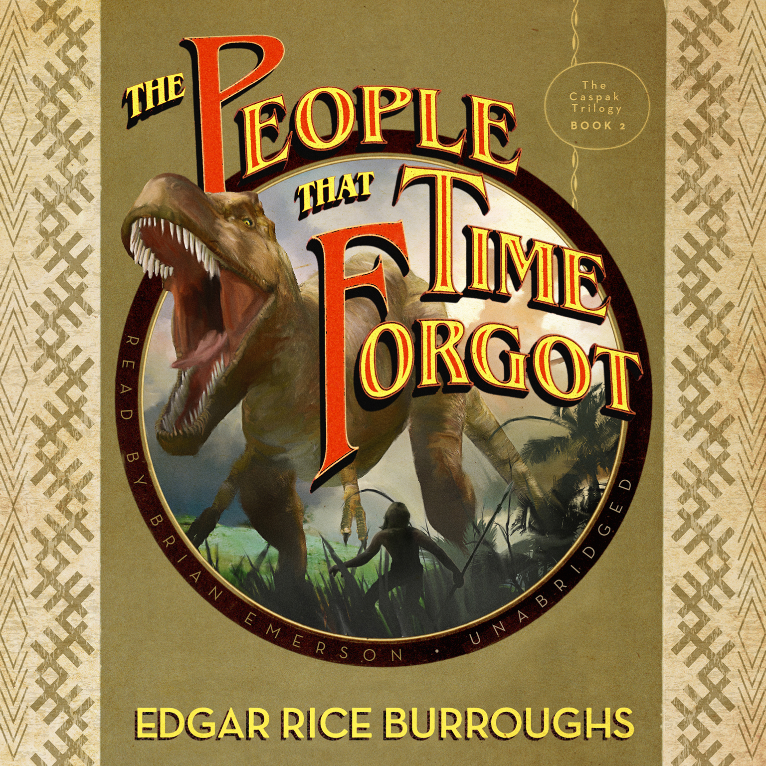 Printable The People That Time Forgot Audiobook Cover Art