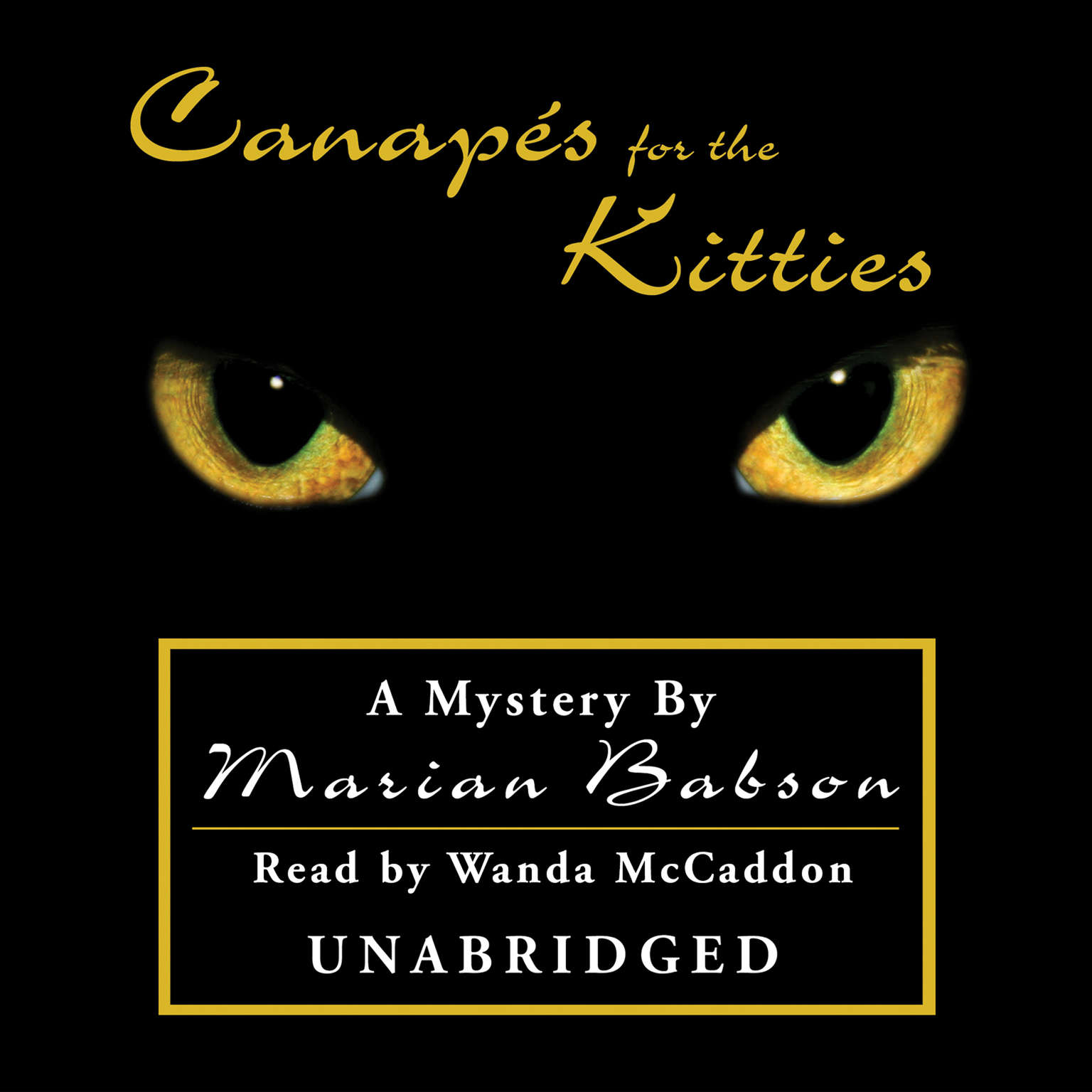 Printable Canapés for the Kitties Audiobook Cover Art