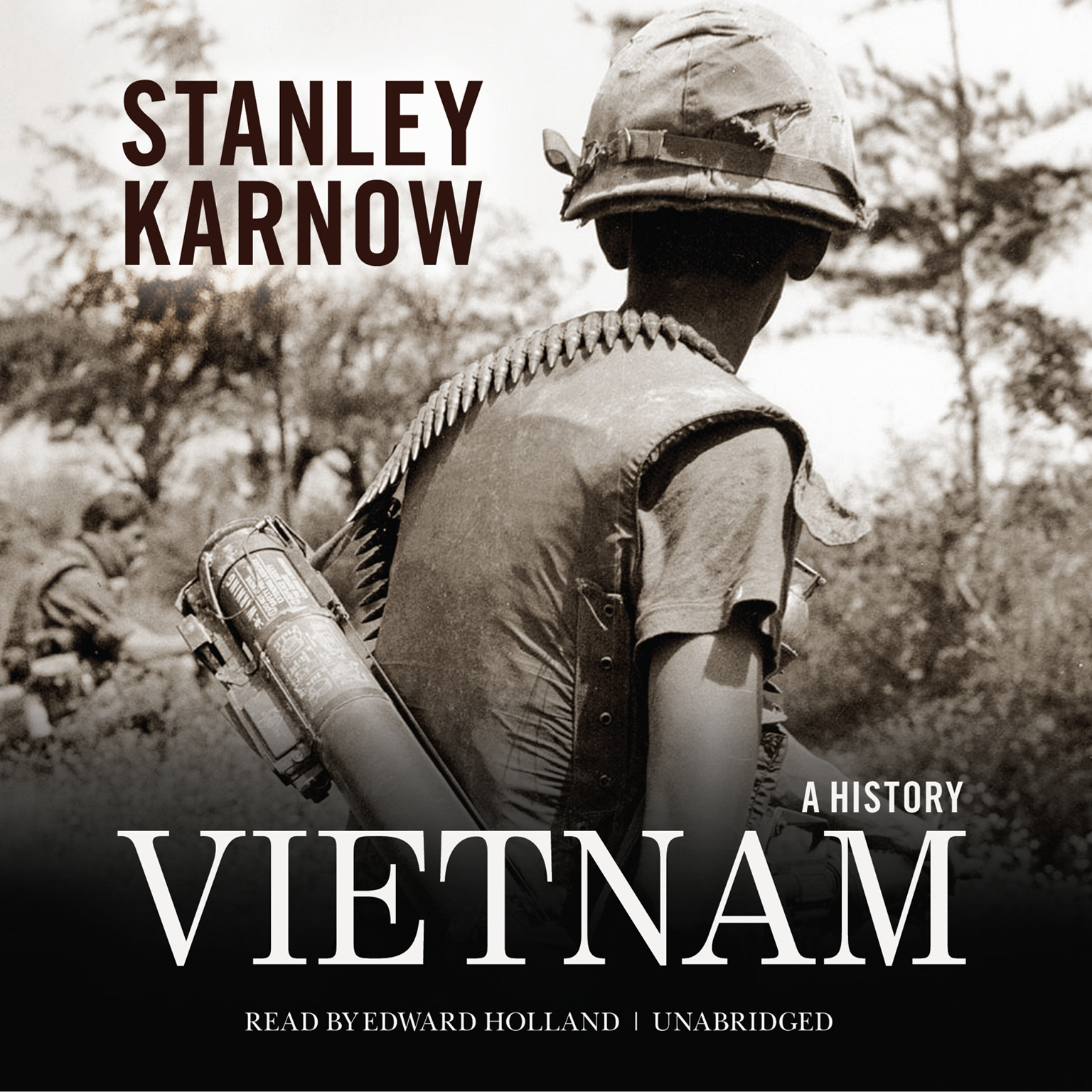 Printable Vietnam: A History Audiobook Cover Art