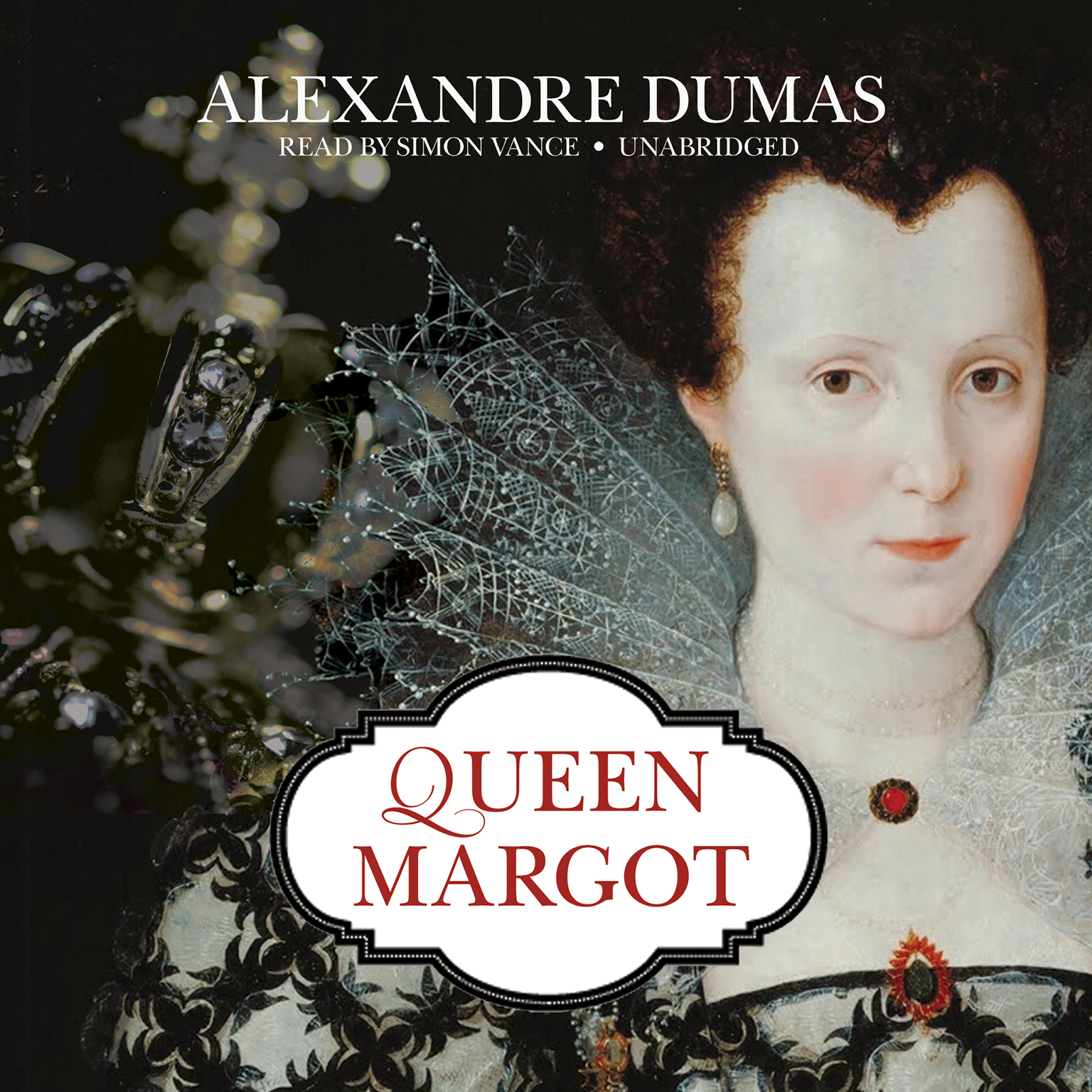 Printable Queen Margot Audiobook Cover Art