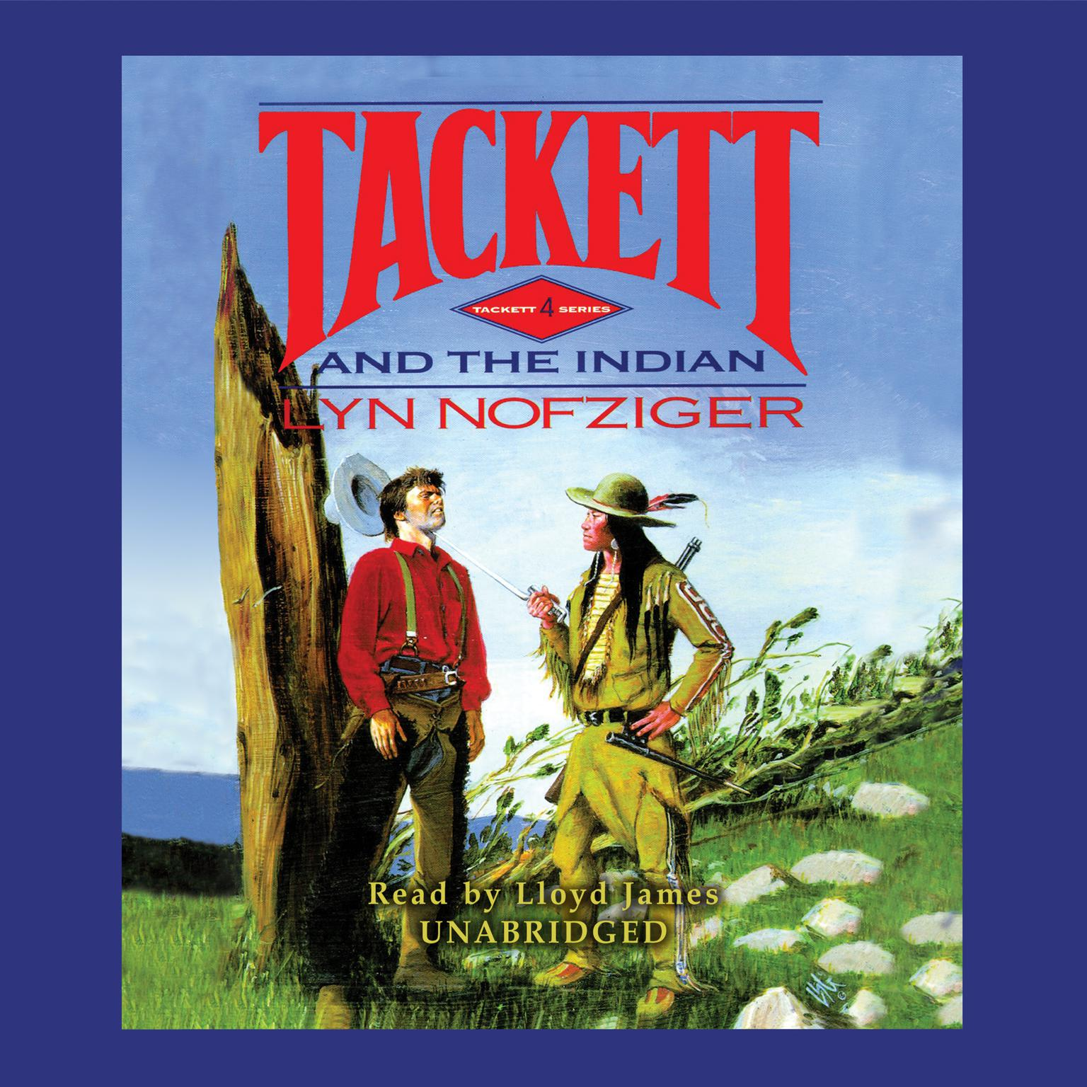 Printable Tackett and the Indian Audiobook Cover Art